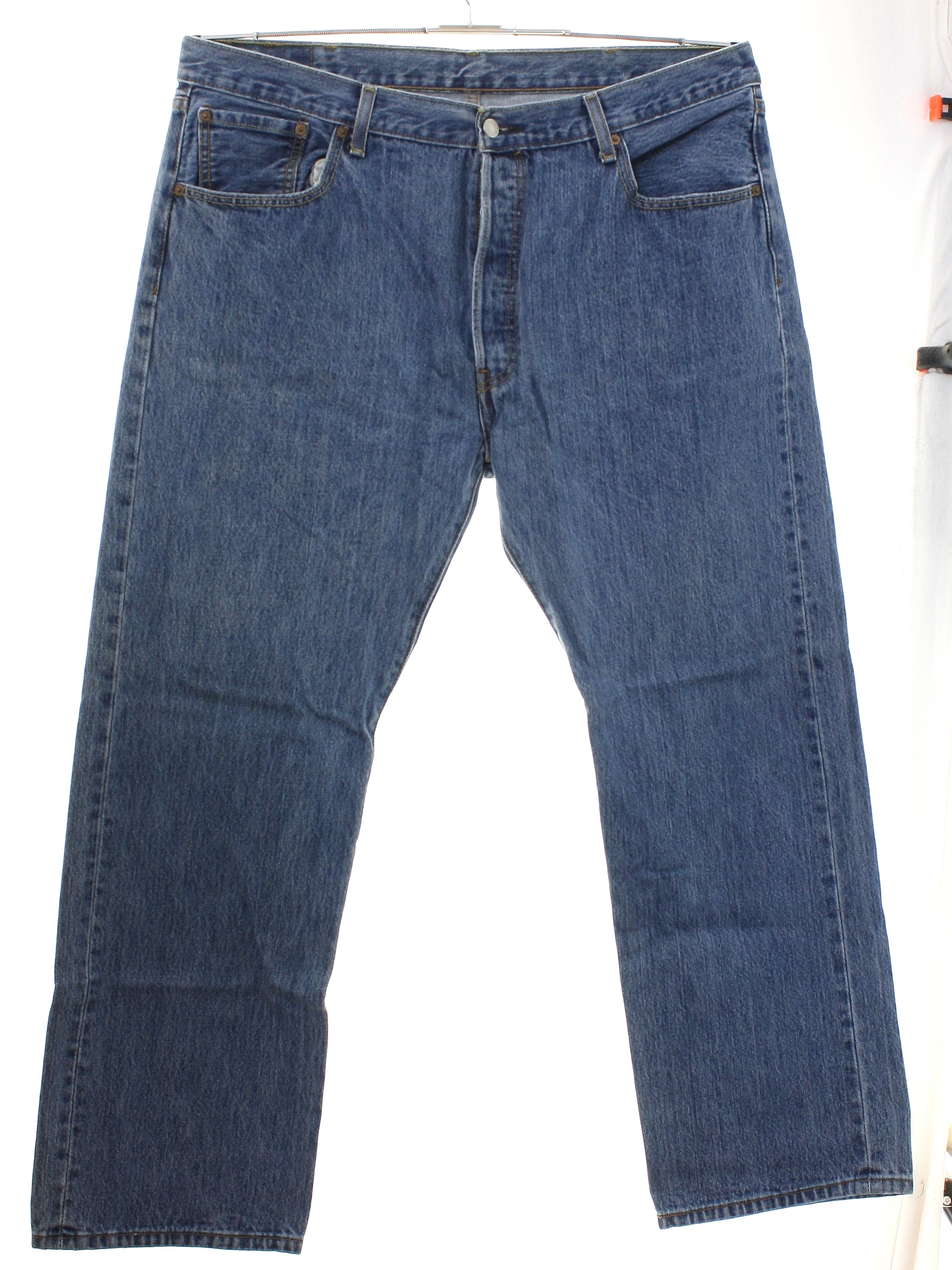 a7941f1b 1990's Levis Mens Levis 501 Straight Leg Denim Jeans Pants $30.00 In stock.  Item No. 299542. 90s or Newer ...