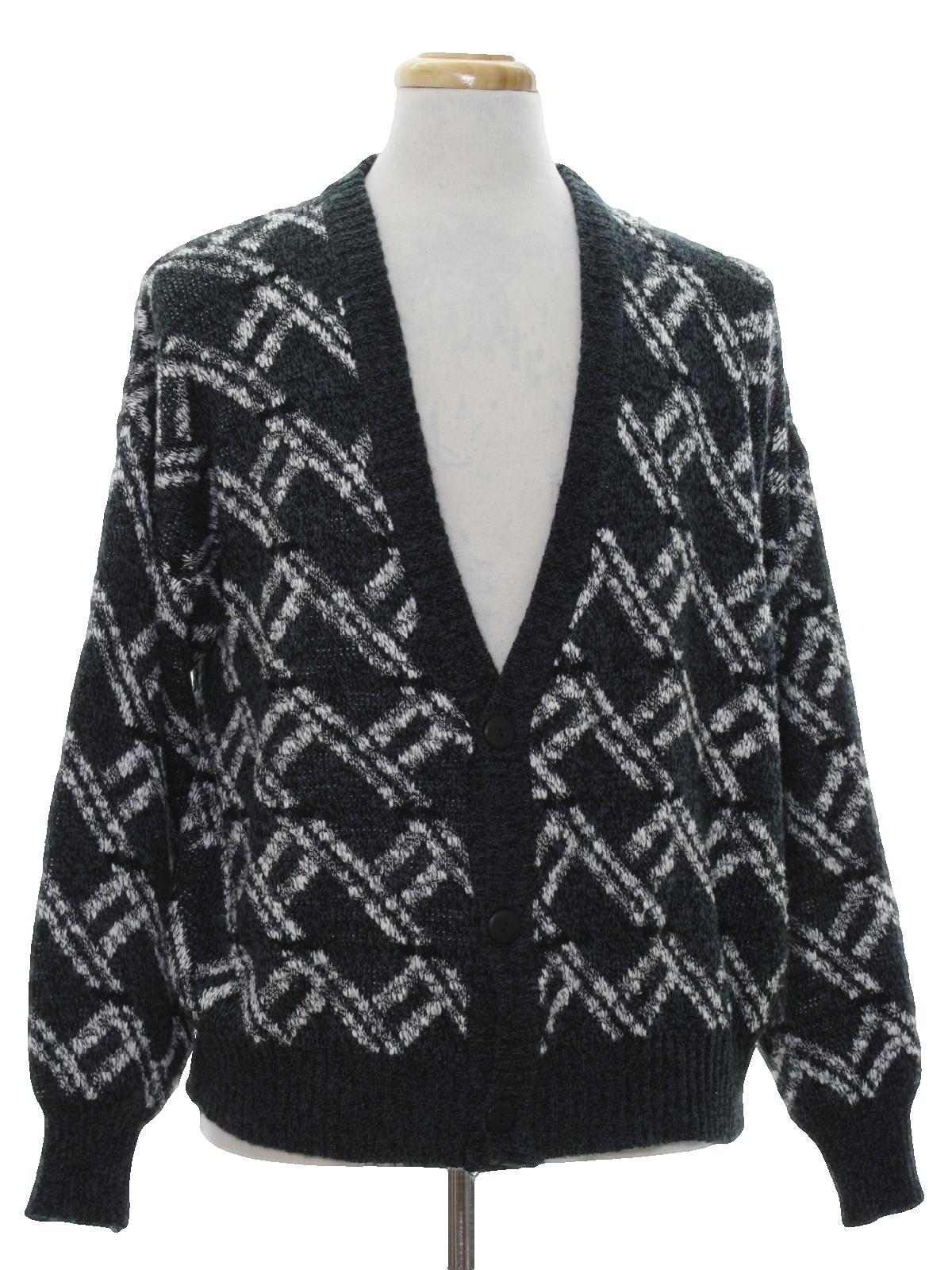 80s Vintage Michael Gerald Caridgan Sweater: 80s -Michael Gerald ...