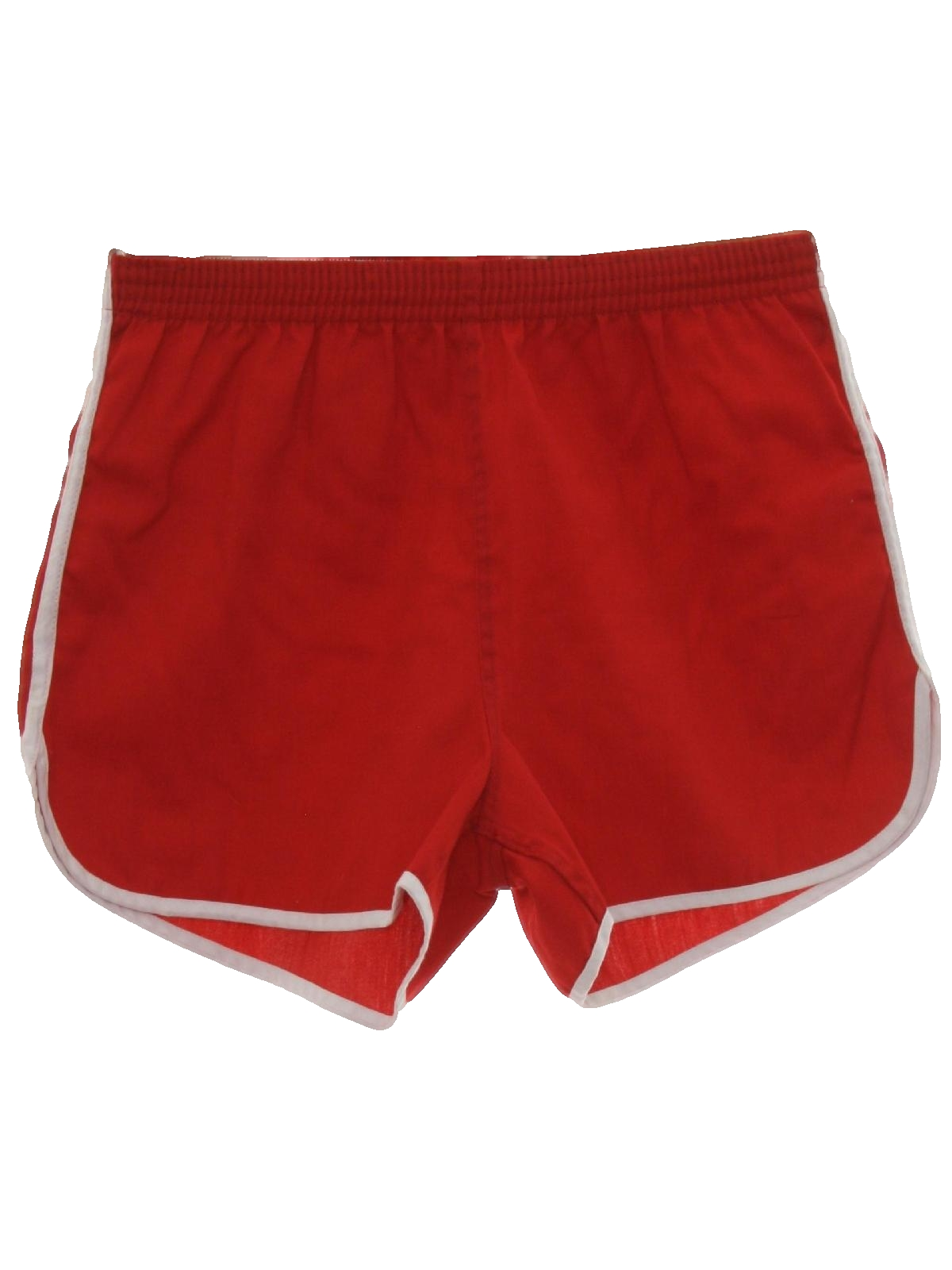 80s Retro Shorts: 80s -Missing Label- Mens red background ...