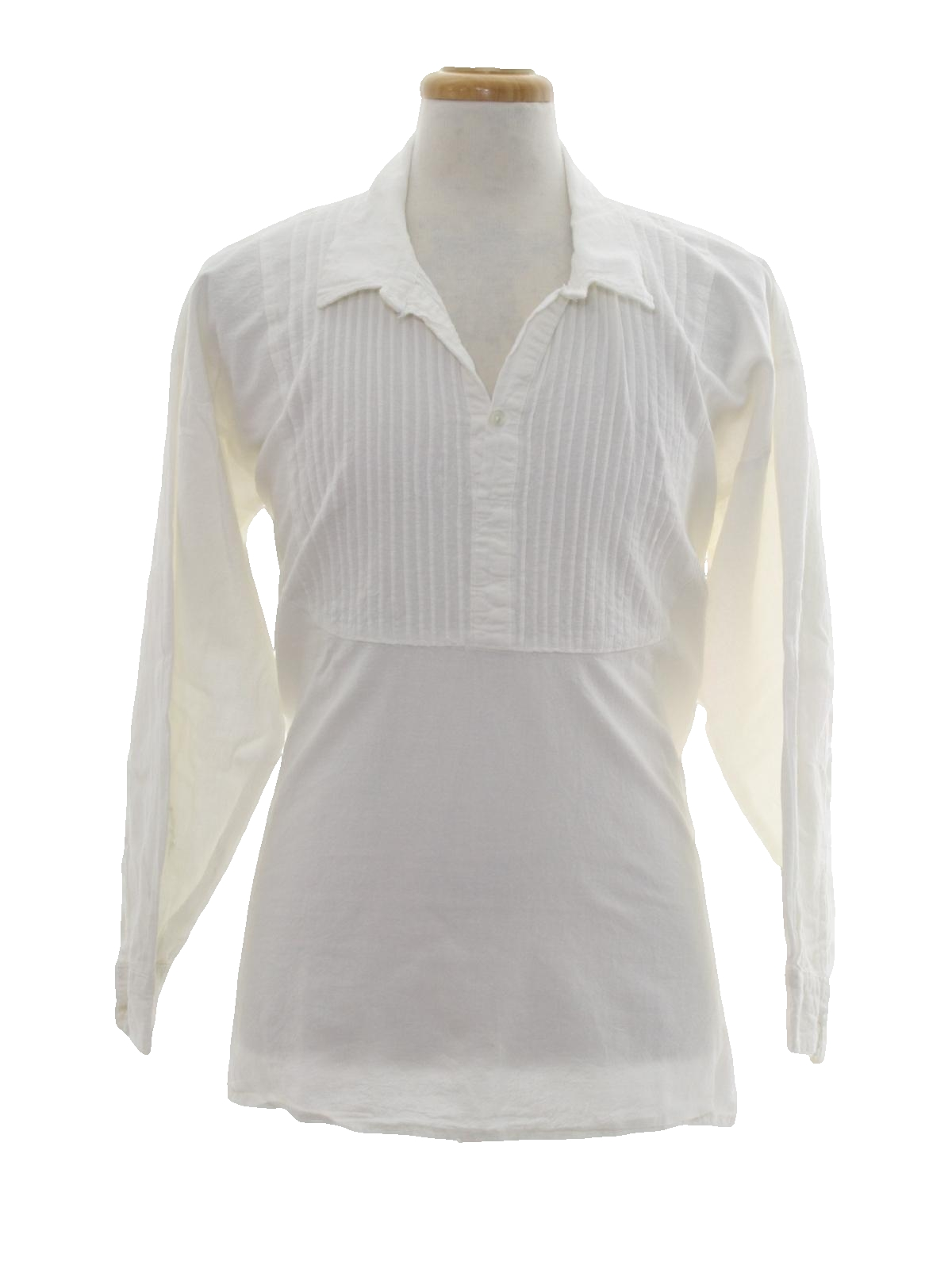 Eighties vintage hippie shirt 80s missing label mens for Mens dress shirts with cufflink holes