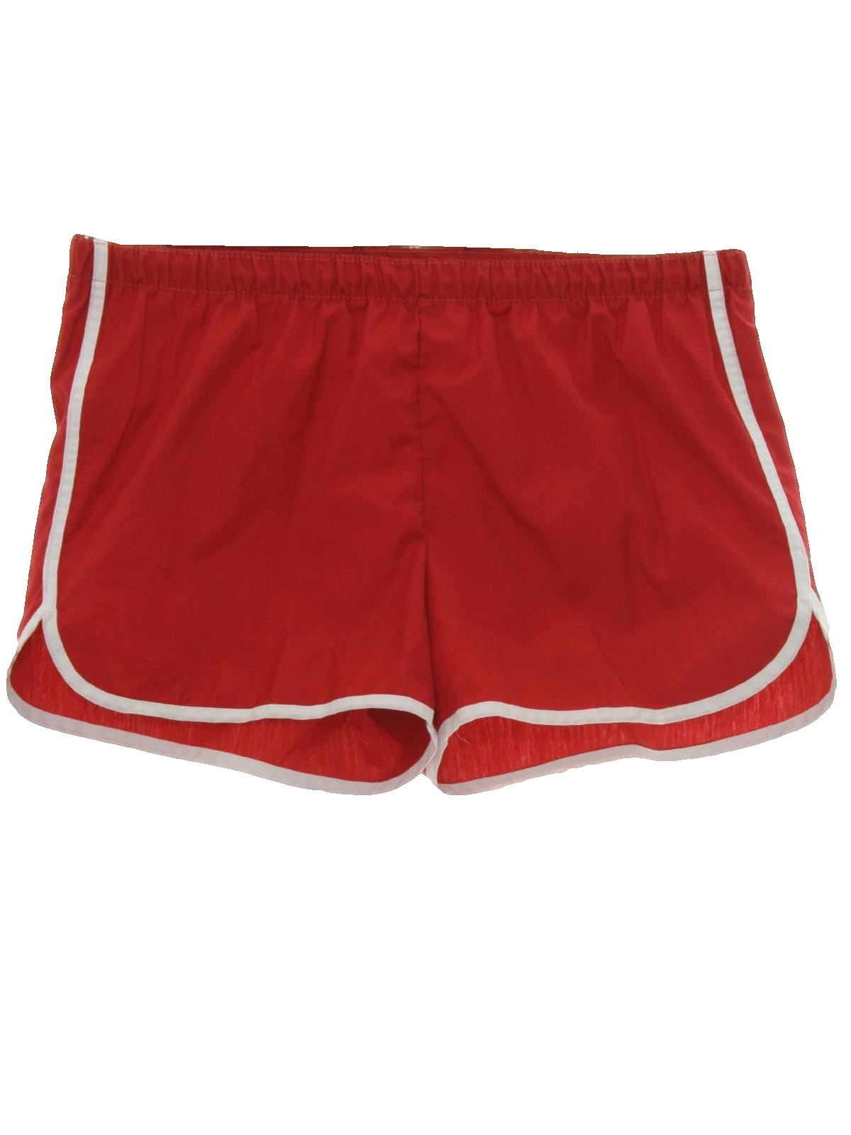 1980's Retro Swimsuit/Swimwear: 80s -Care Label Only- Mens red ...