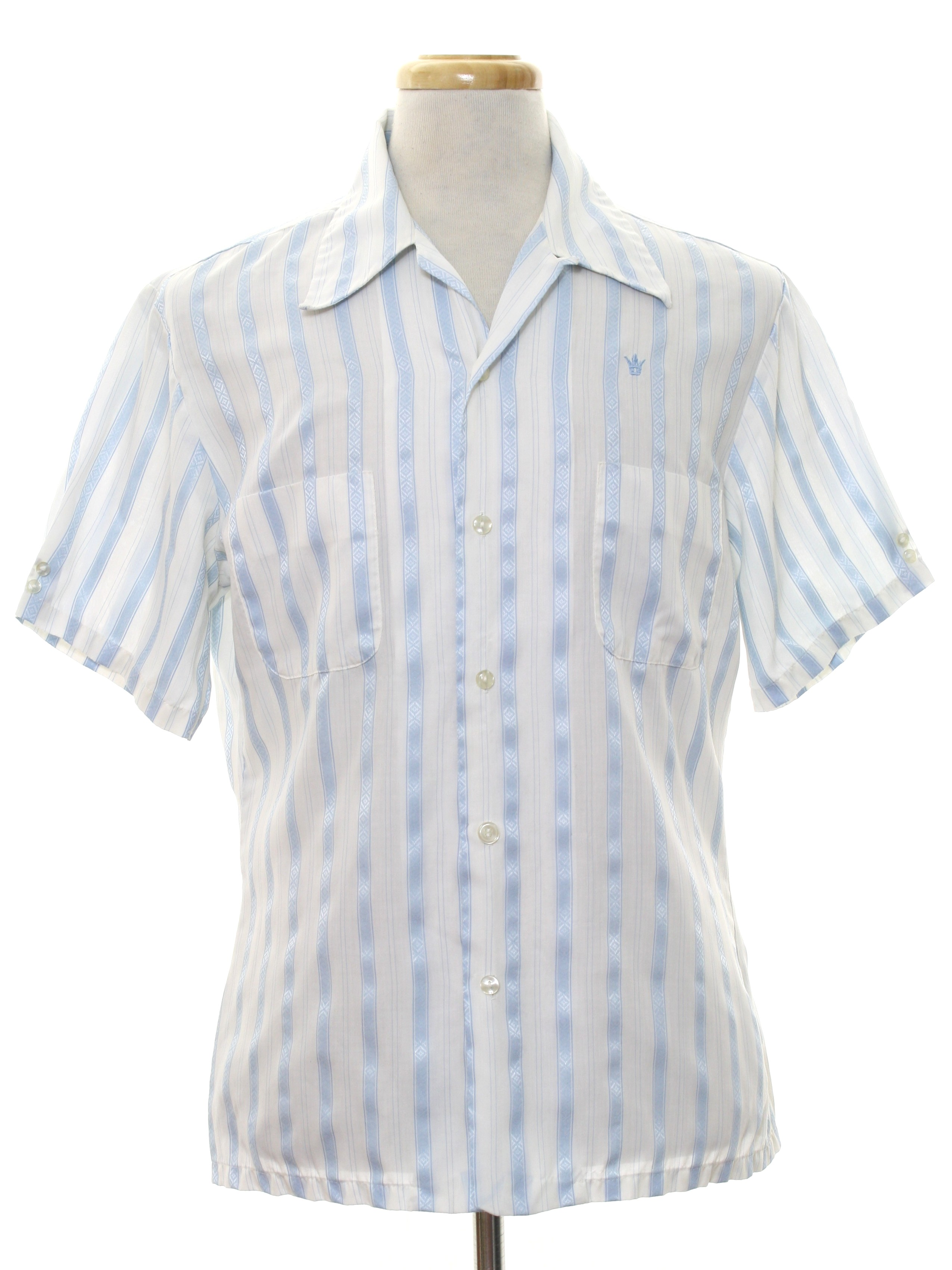 59fd442a76c Patterned Short Sleeve Button Up Shirts
