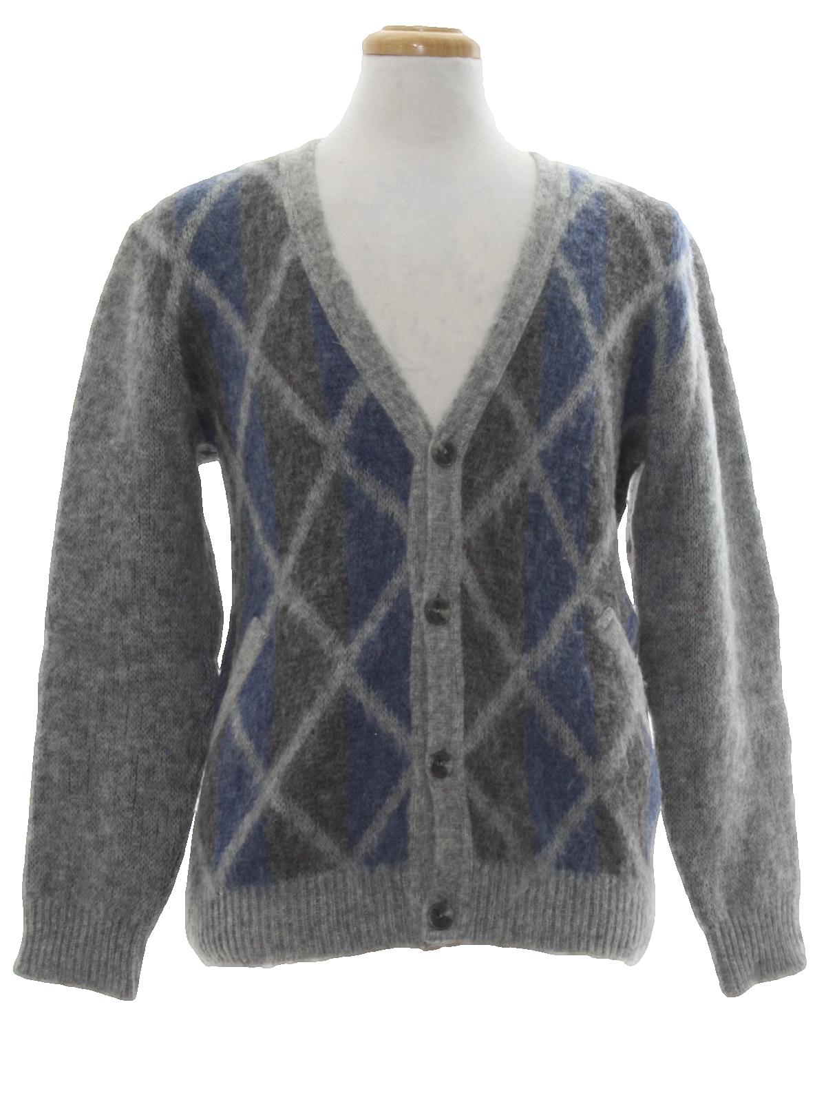 Icewear Eighties Vintage Caridgan Sweater: 80s -Icewear- Mens ...