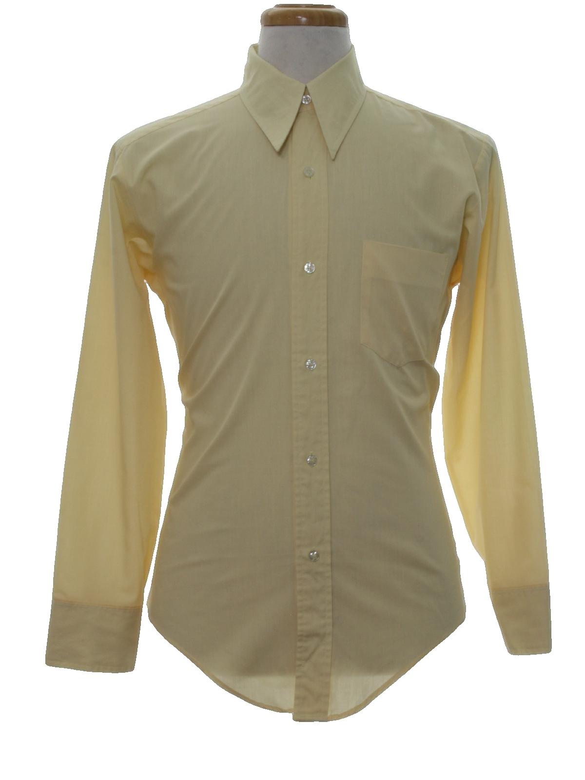 Vintage Bud Berma Seventies Shirt 70s Bud Berma Mens
