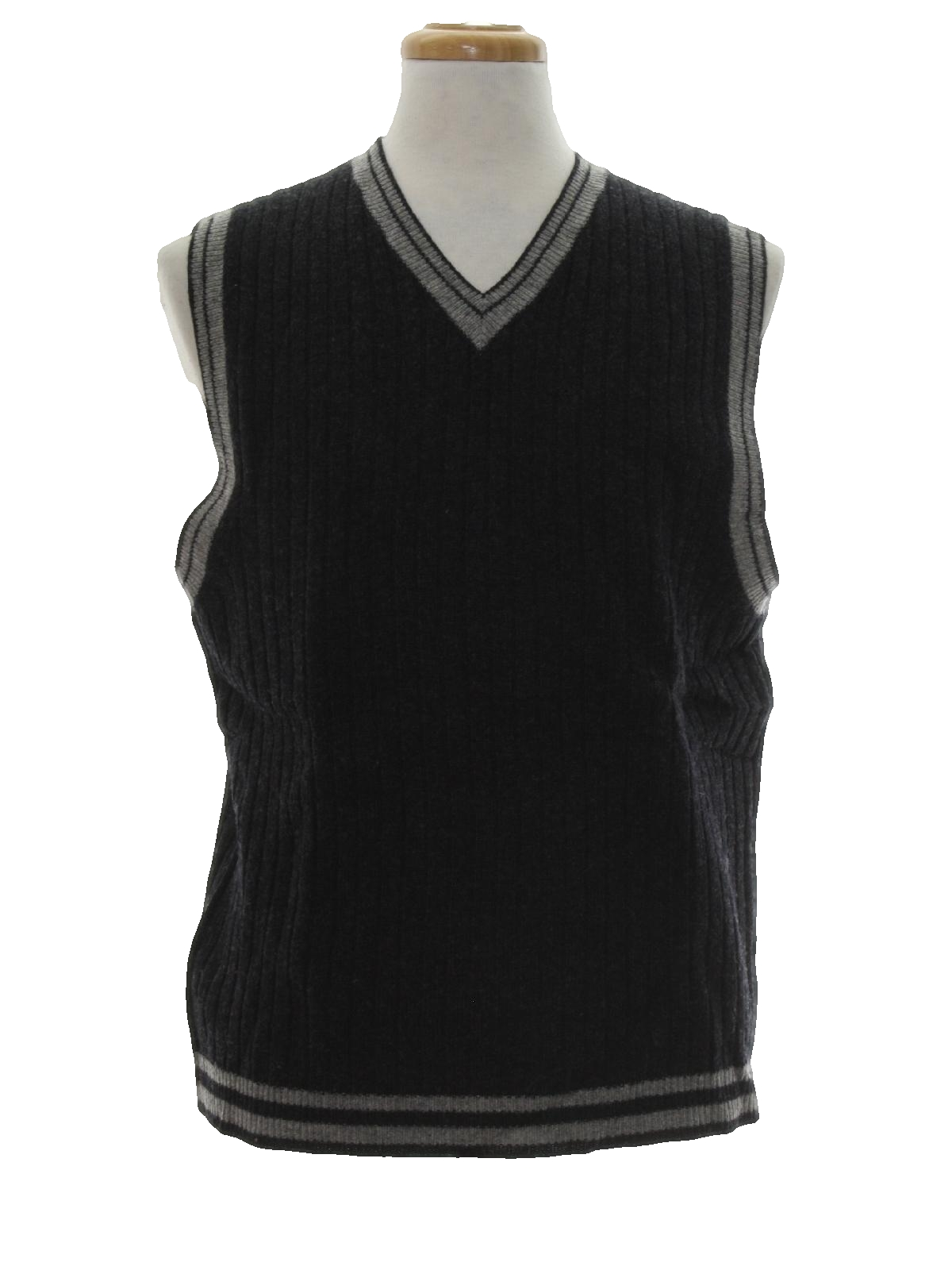Nineties Vintage Sweater: 90s -Structure Urban Wear- Mens dark ...