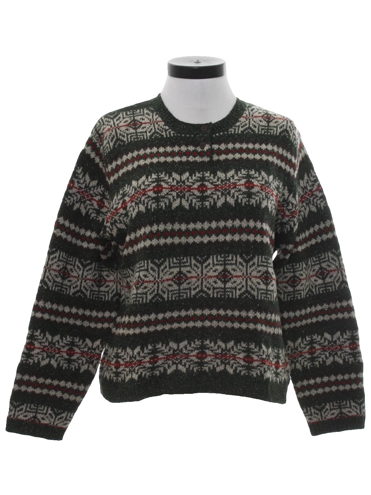 1990's Sweater (Eddie Bauer): 90s vintage -Eddie Bauer- Womens ...