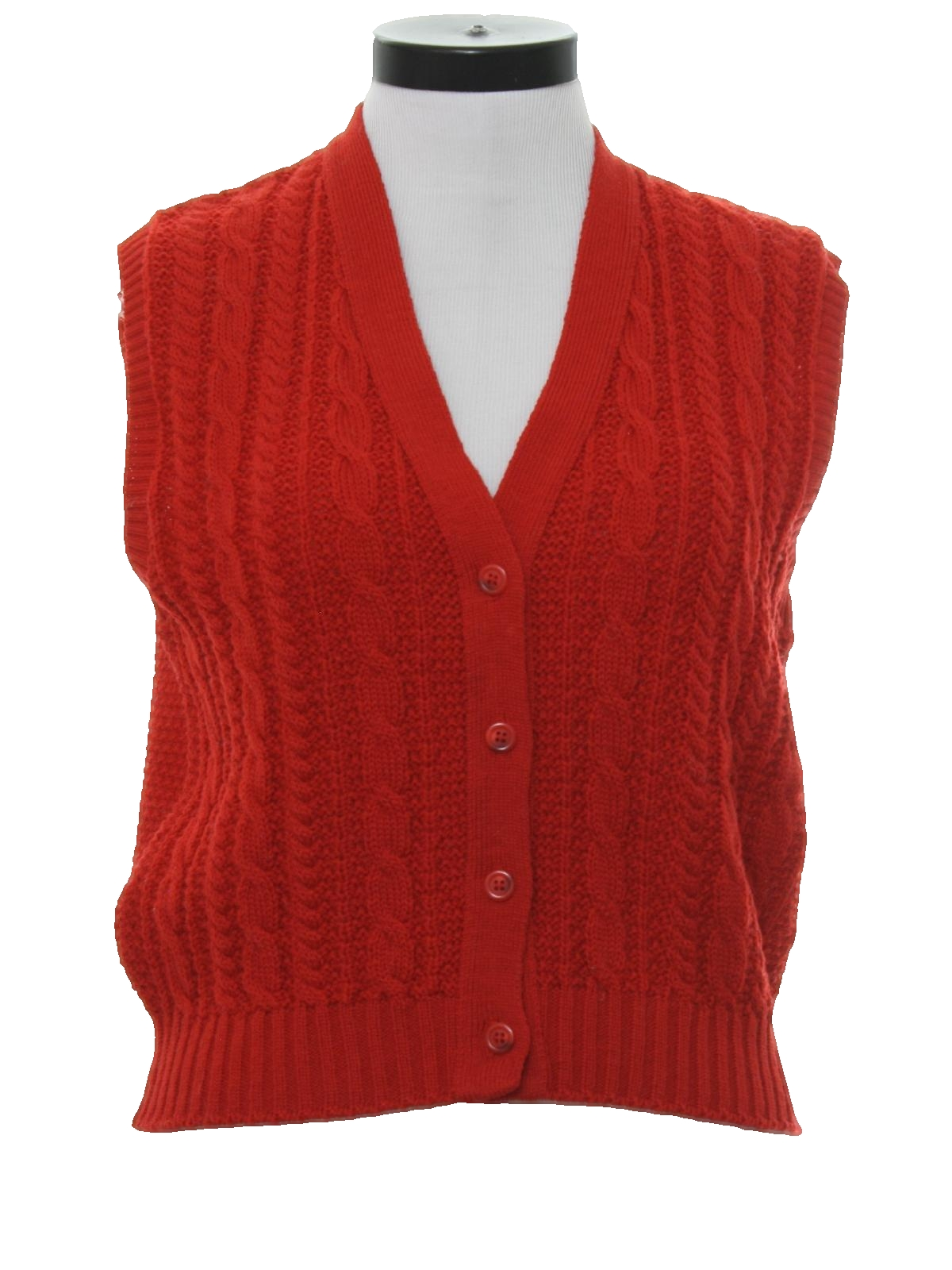 Knitting Vest For Women : S vintage sweater pendleton womens cable knit
