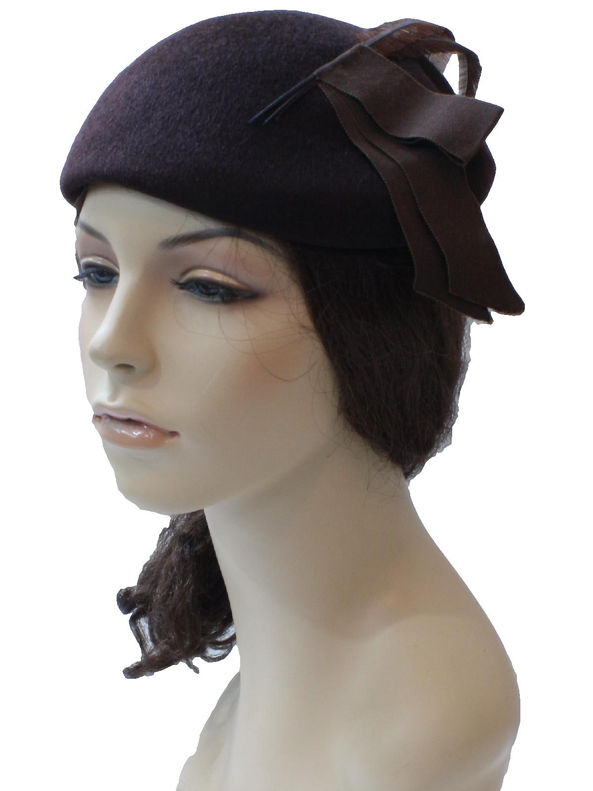 vintage glenover 1950s hat 50s glenover womens