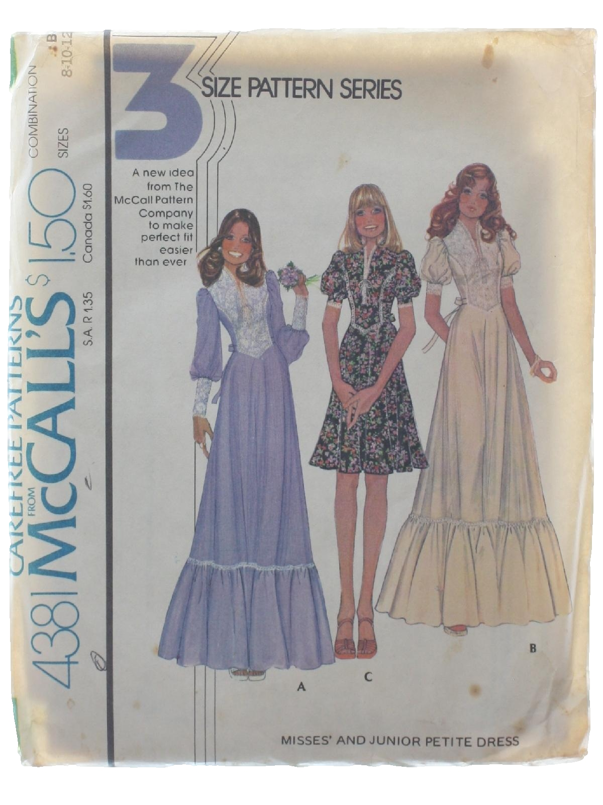 Seventies Sewing Pattern 70s Simplicity Pattern No 4381