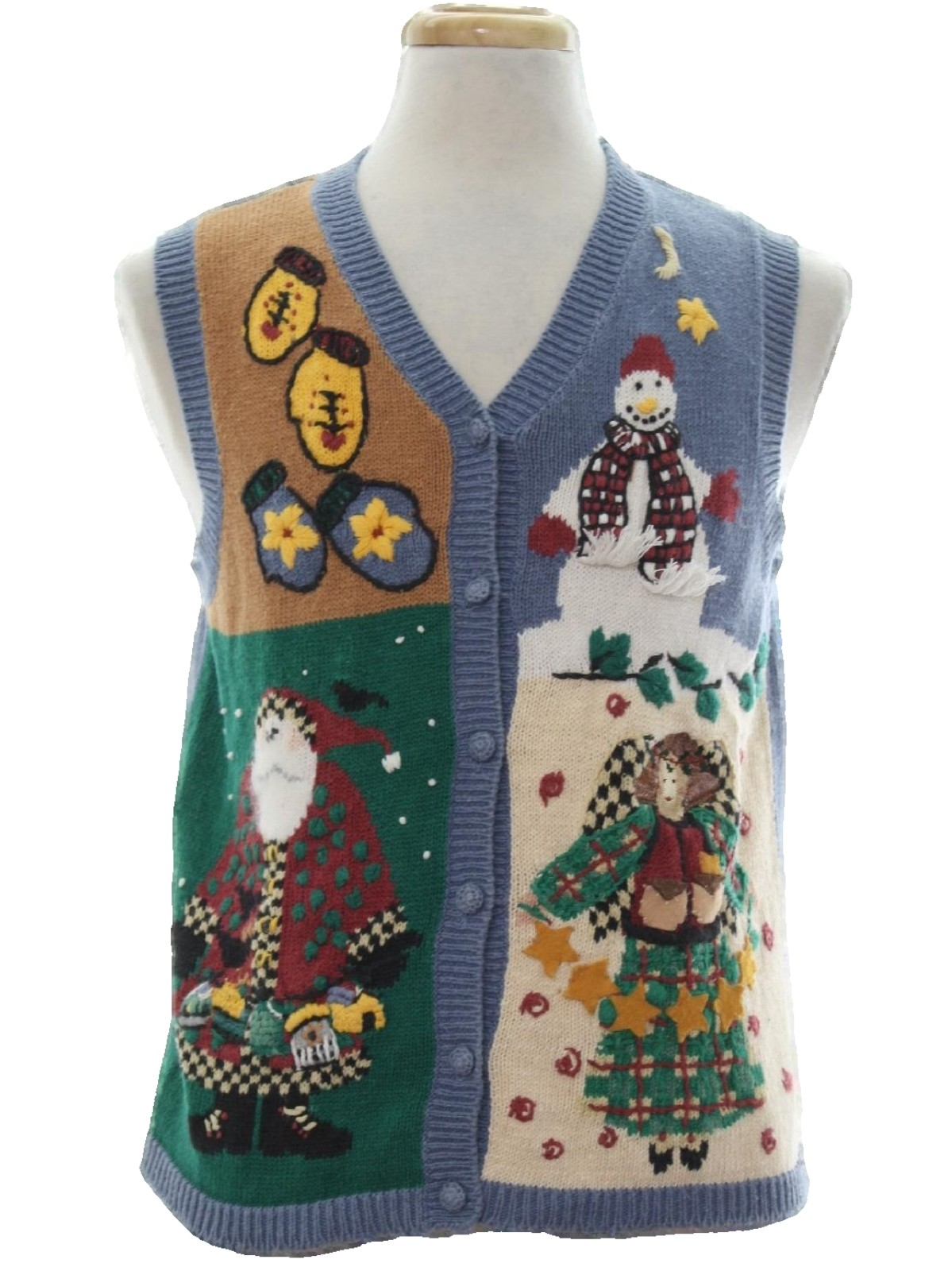 Country Kitsch Ugly Christmas Sweater Vest: -High Sierra II ...