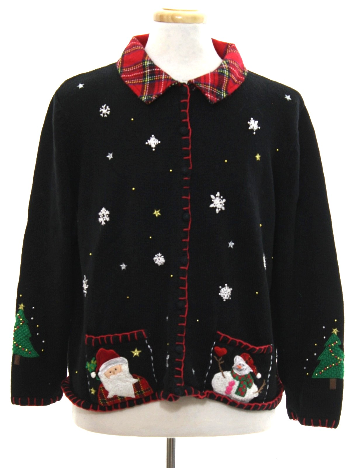 Ugly christmas sweater designer originals studio unisex for Over the top ugly christmas sweaters