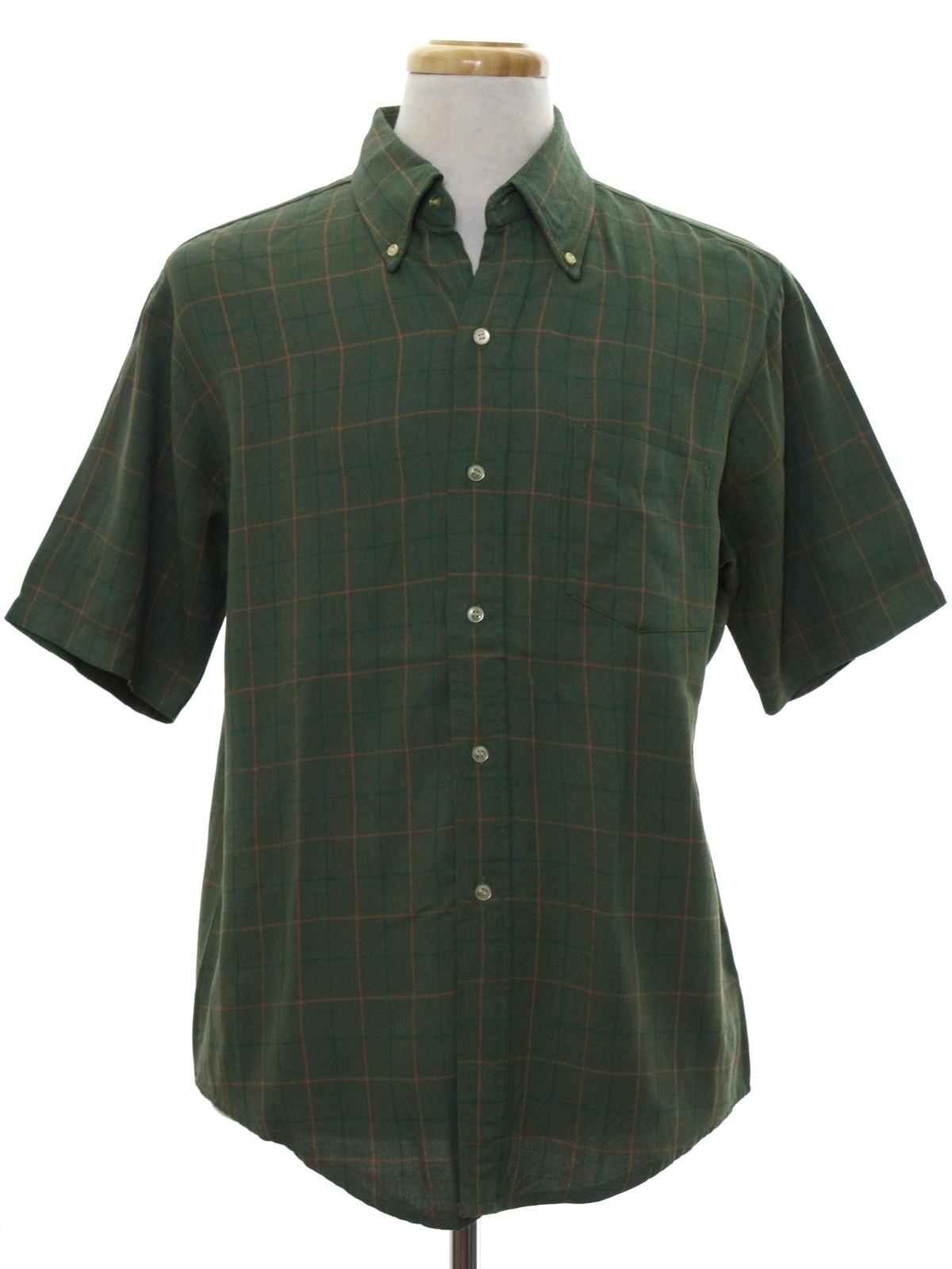 Vintage 60s Shirt Early 60s Kennington Form Fit Mens