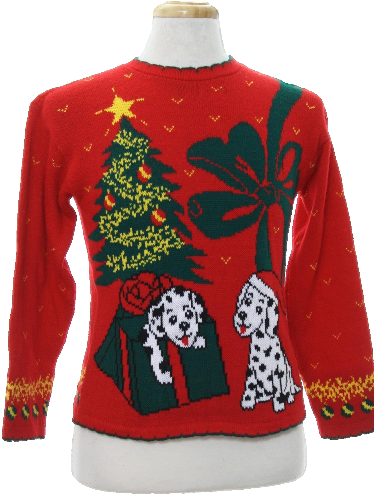 20 Ugly Christmas Sweaters Featuring Dogs To Dazzle With at Holiday ...