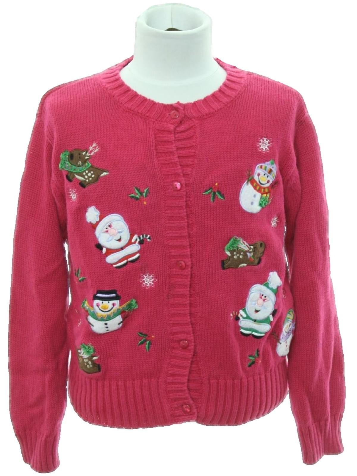 305932jpg - Pink Ugly Christmas Sweater