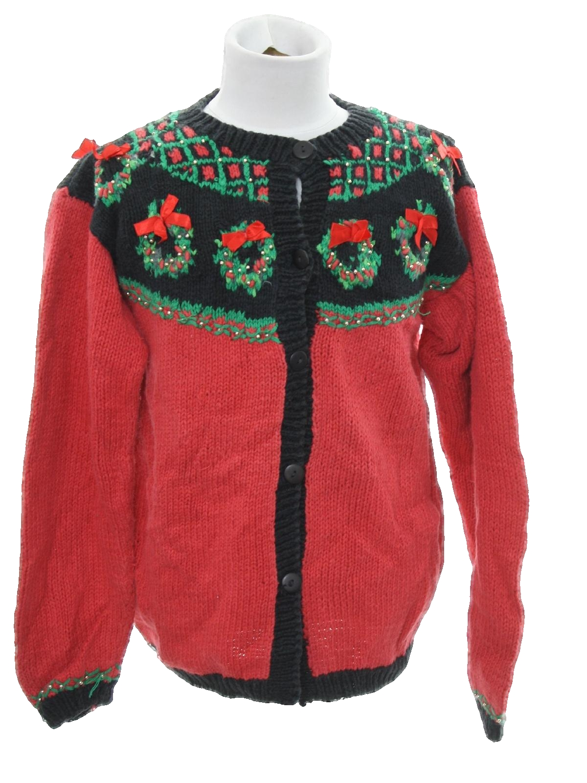 Womens/Girls Country Kitsch Style Ugly Christmas Sweater: -Kids ...
