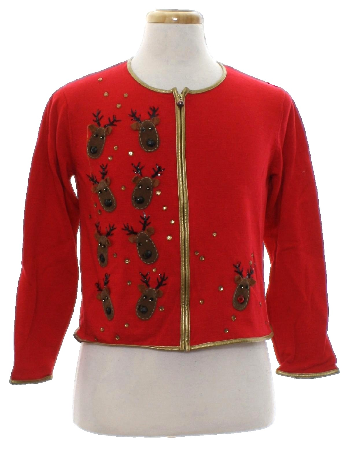 Womens Designer Ugly Christmas Sweater: -Christina Rotelli ...