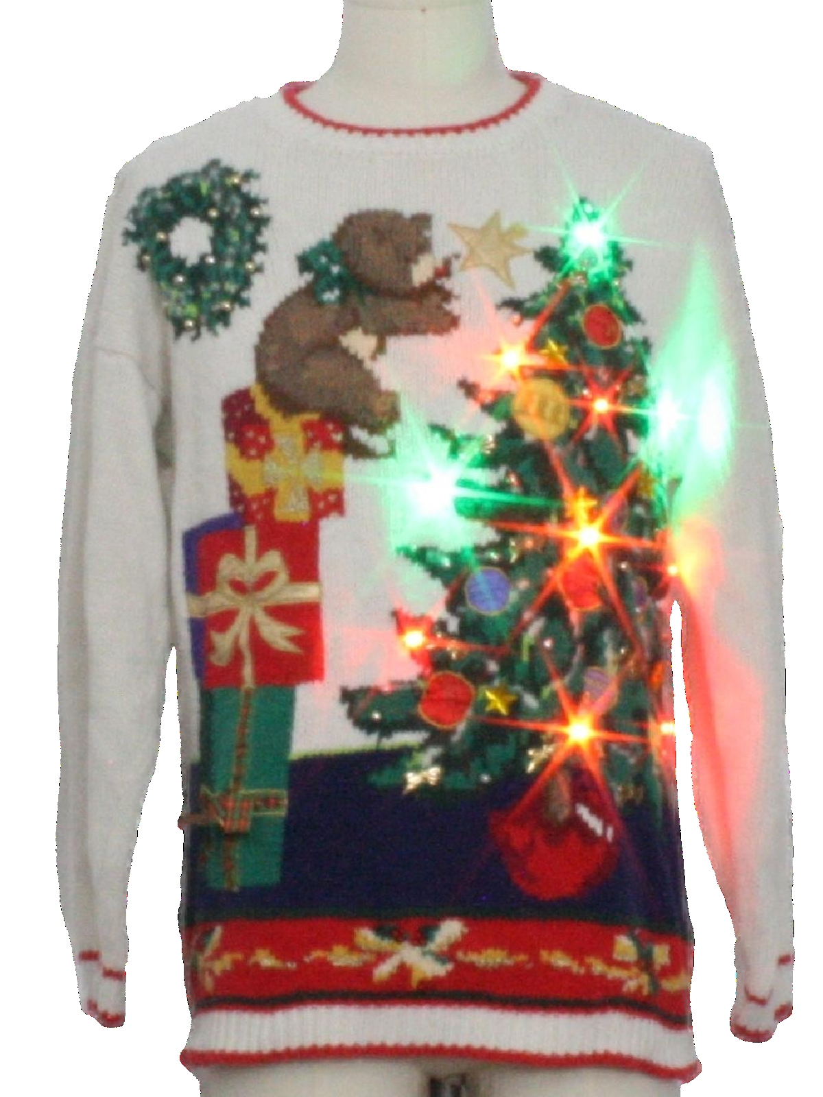 Super ugly christmas sweaters