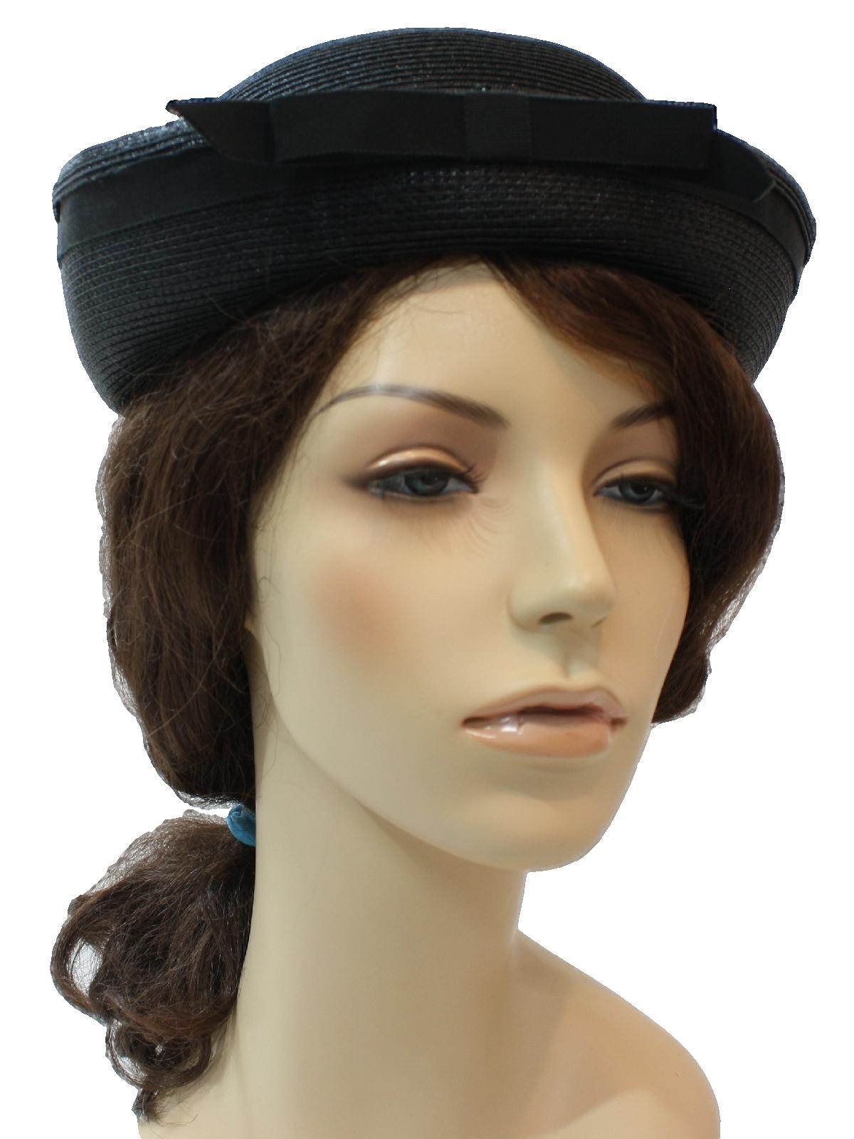 Retro 60s Hat (Evelyn Varon)   60s -Evelyn Varon- Designer Womens ... d3323bc757d