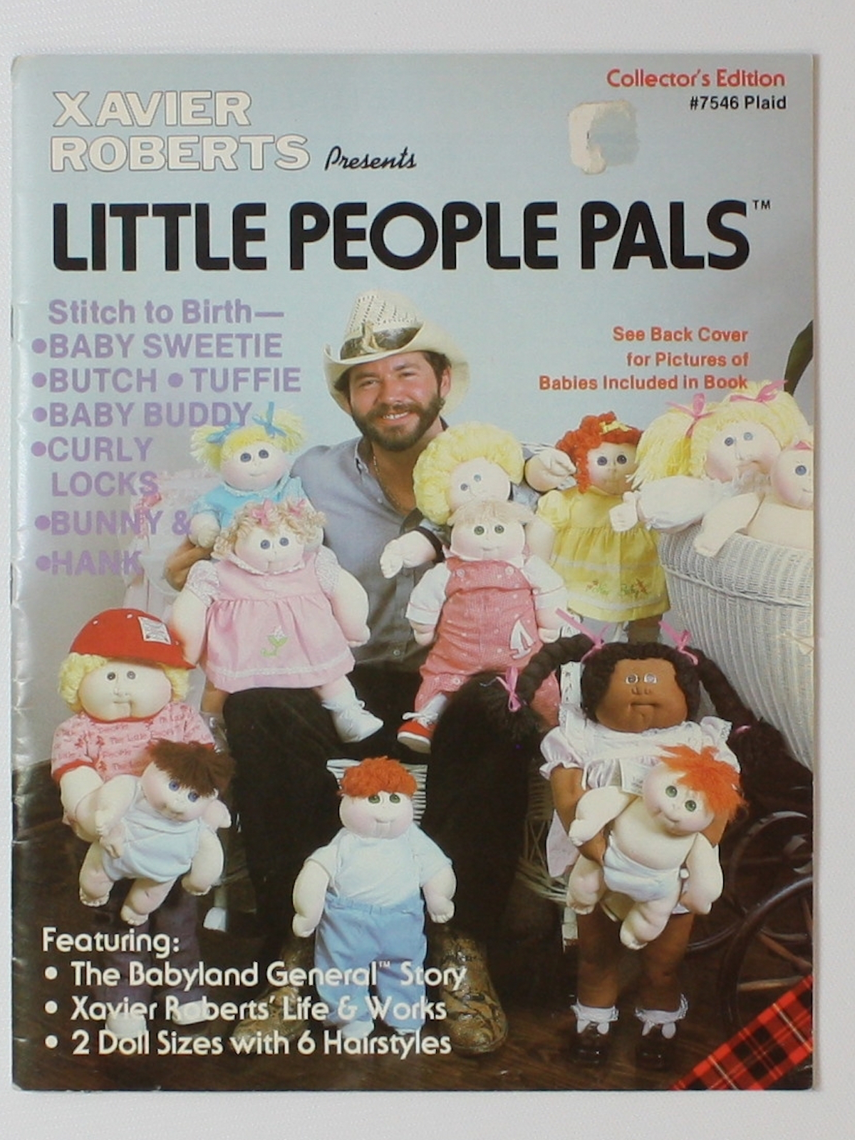 80s Sewing Pattern Xavier Roberts Little People Pals