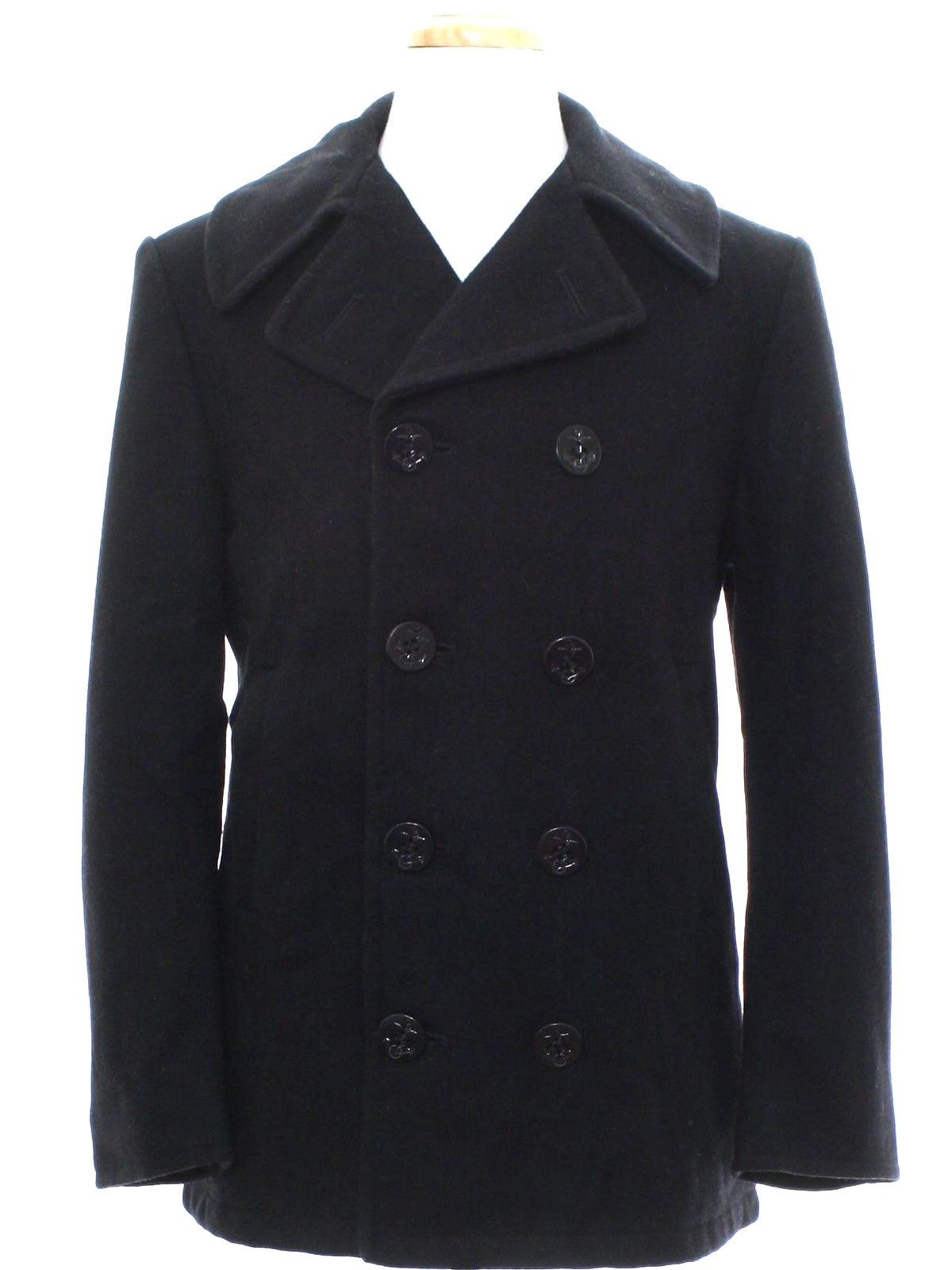Be the captain of your own destiny with this top notch pea coat. Walk the walk and talk the talk, while exuding confidence and style. The wool pea coat enjoys a subtle and understated design that sets the trend and makes you stand out from the crowd.5/5(8).