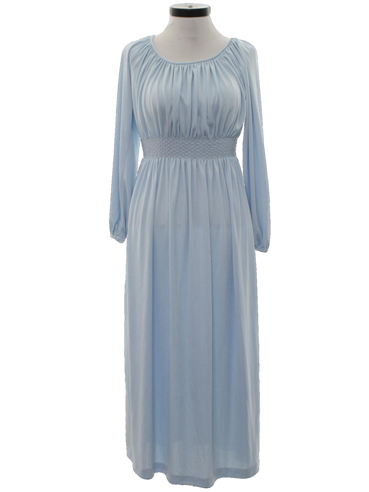 Seventies Vintage Disco Dress: 70s -Party Dress- Womens shiny light ...