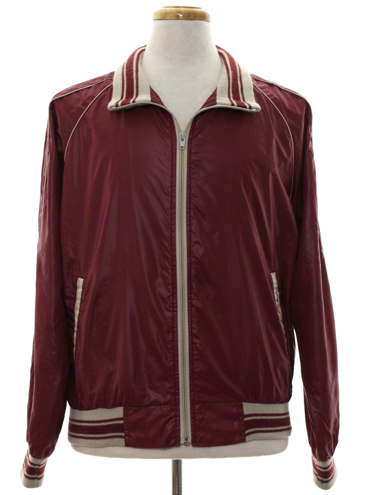 594e6e4882a3 Retro Eighties Jacket  80s -Supreme- Mens mulberry and off white ...
