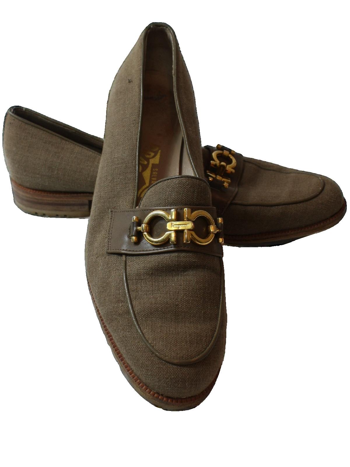 9840d7b8b95 Vintage Salvatore Ferragamo 1980s Shoes  80s -Salvatore Ferragamo ...