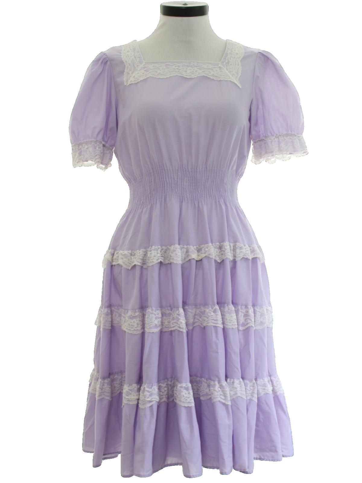 Retro 1970 S Dress Missing Label Late 70s Or Early 80s