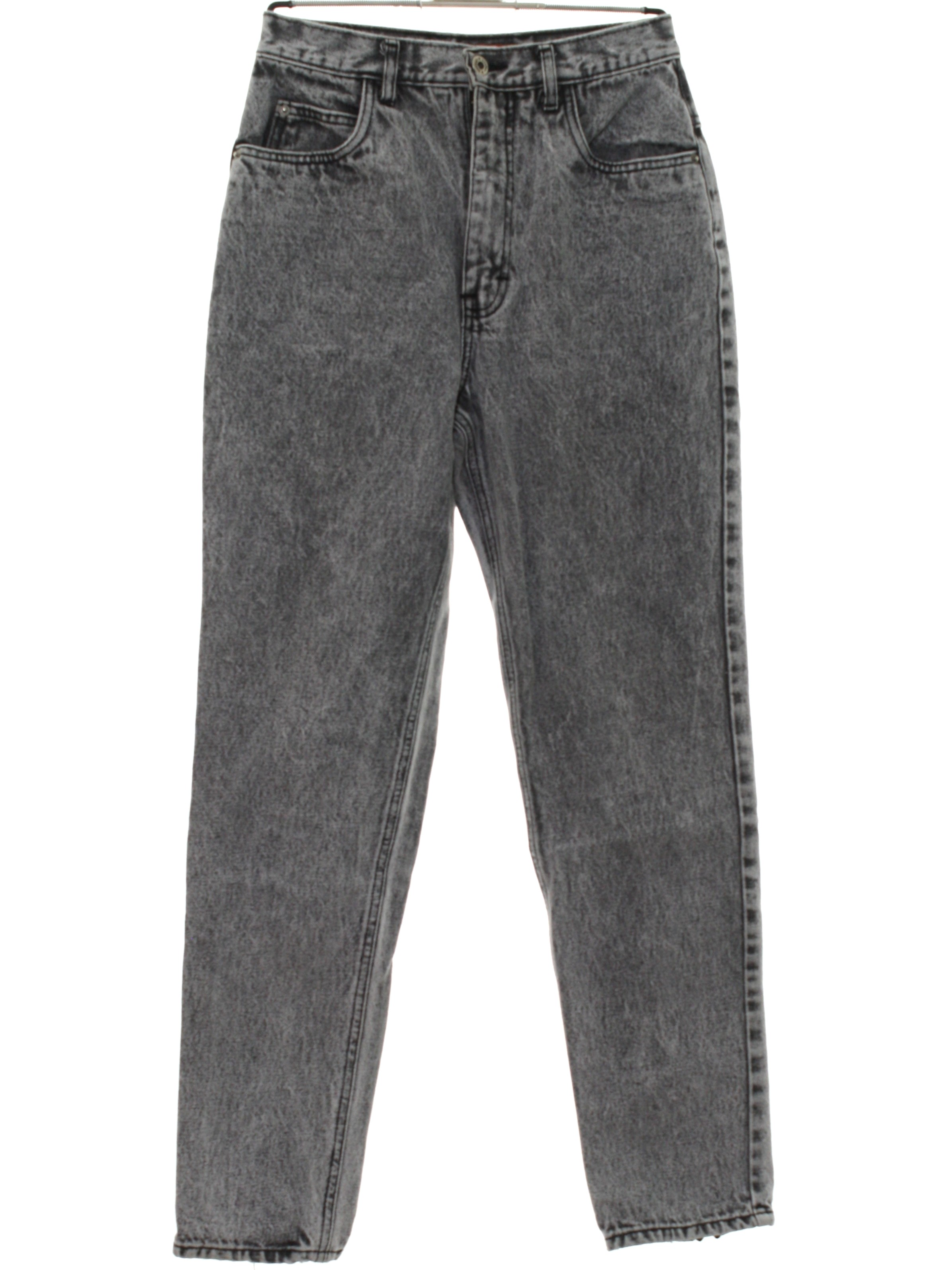Mens Jeans With Zipper At Ankle