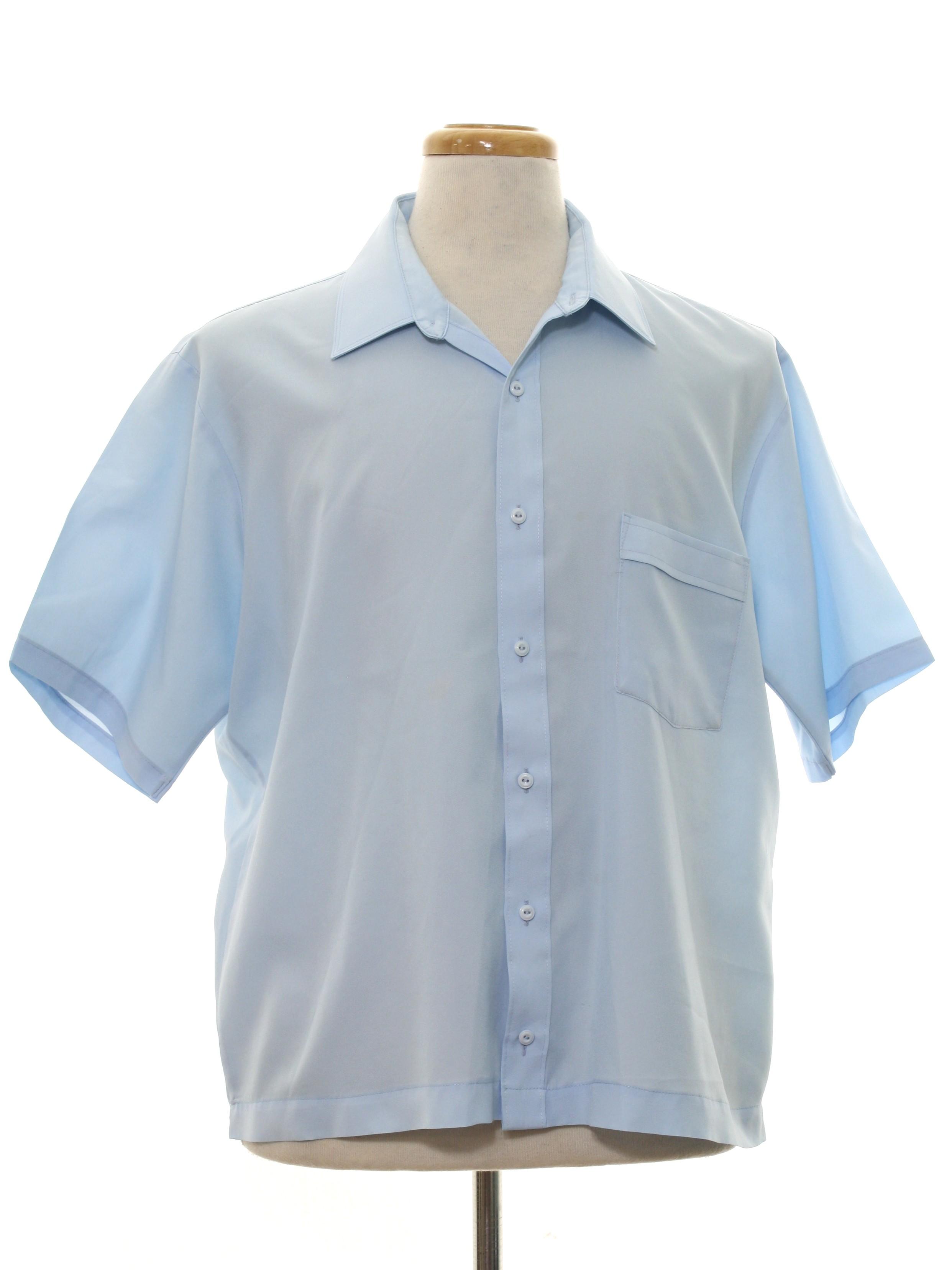 Jc penney lustre silk seventies vintage shirt 70s jc for Sports shirts near me
