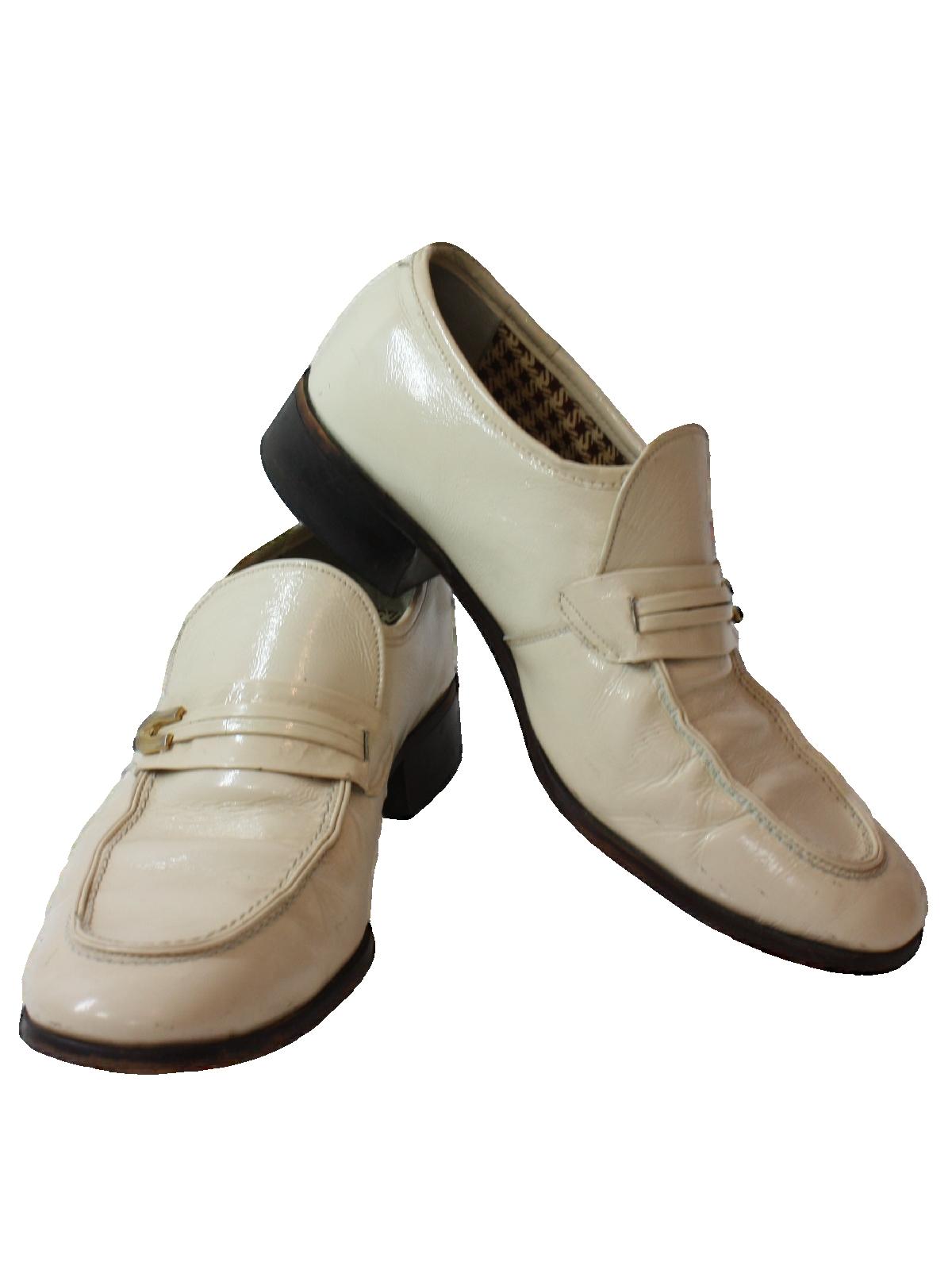 ddf9c1f18cfa1 1970's Mens Loafer Pimp Shoes