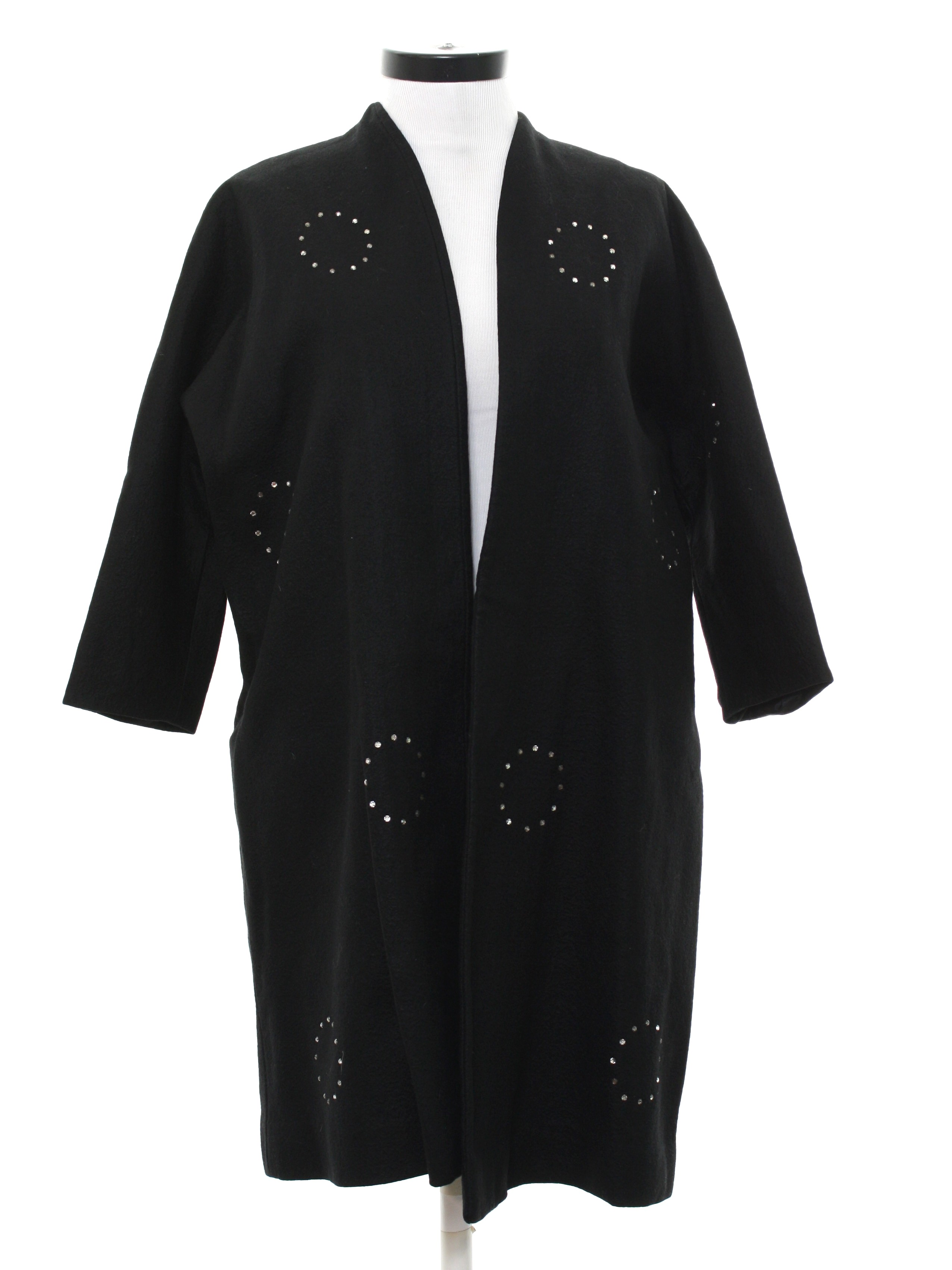 b956936e8c 1950's Jackie Morgan Womens Fab Fifties Cocktail Coat Jacket