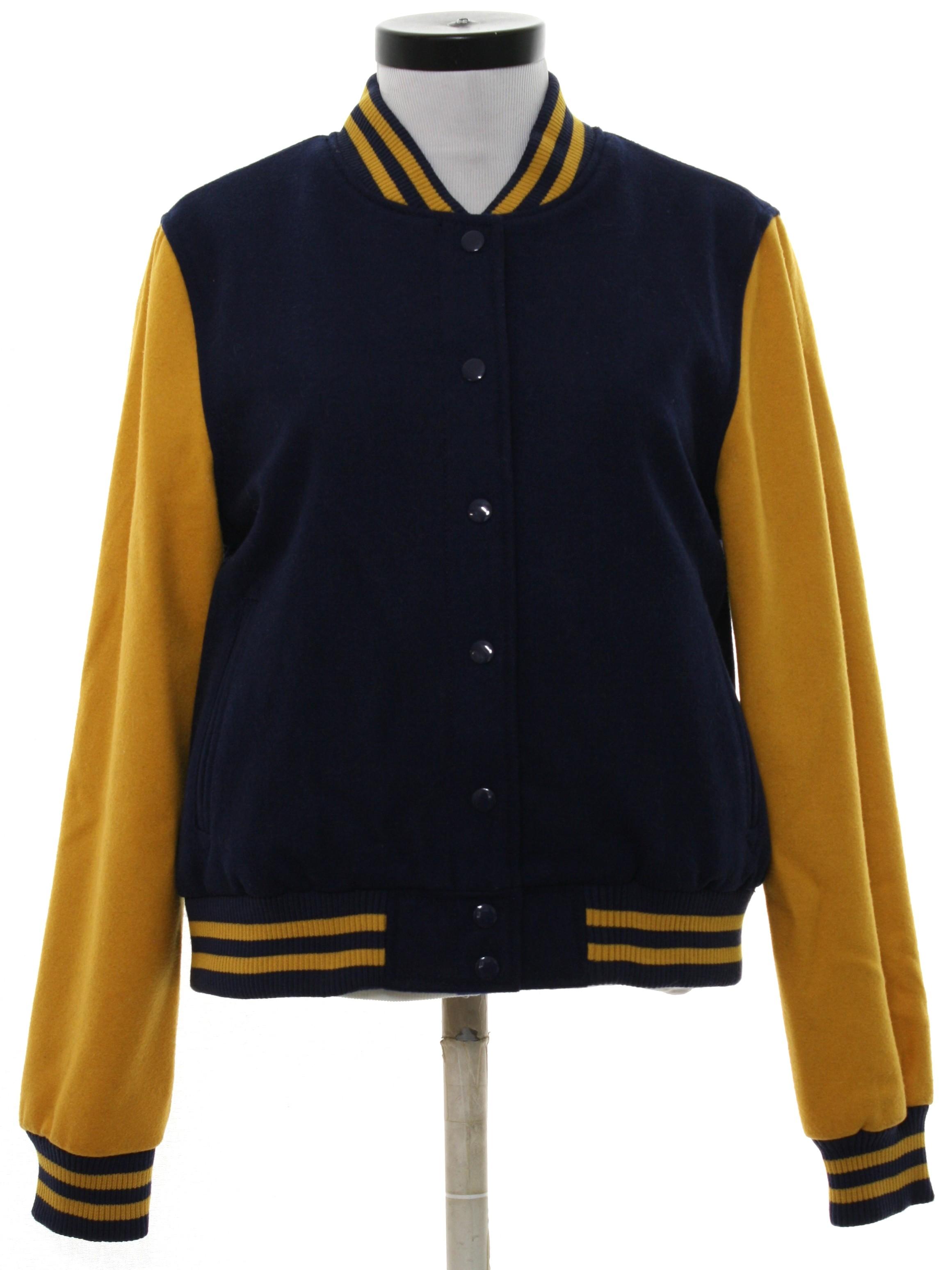 Brand new 90s Retro Jacket: 90s -Mossimo Supply Company- Womens navy blue  FR66