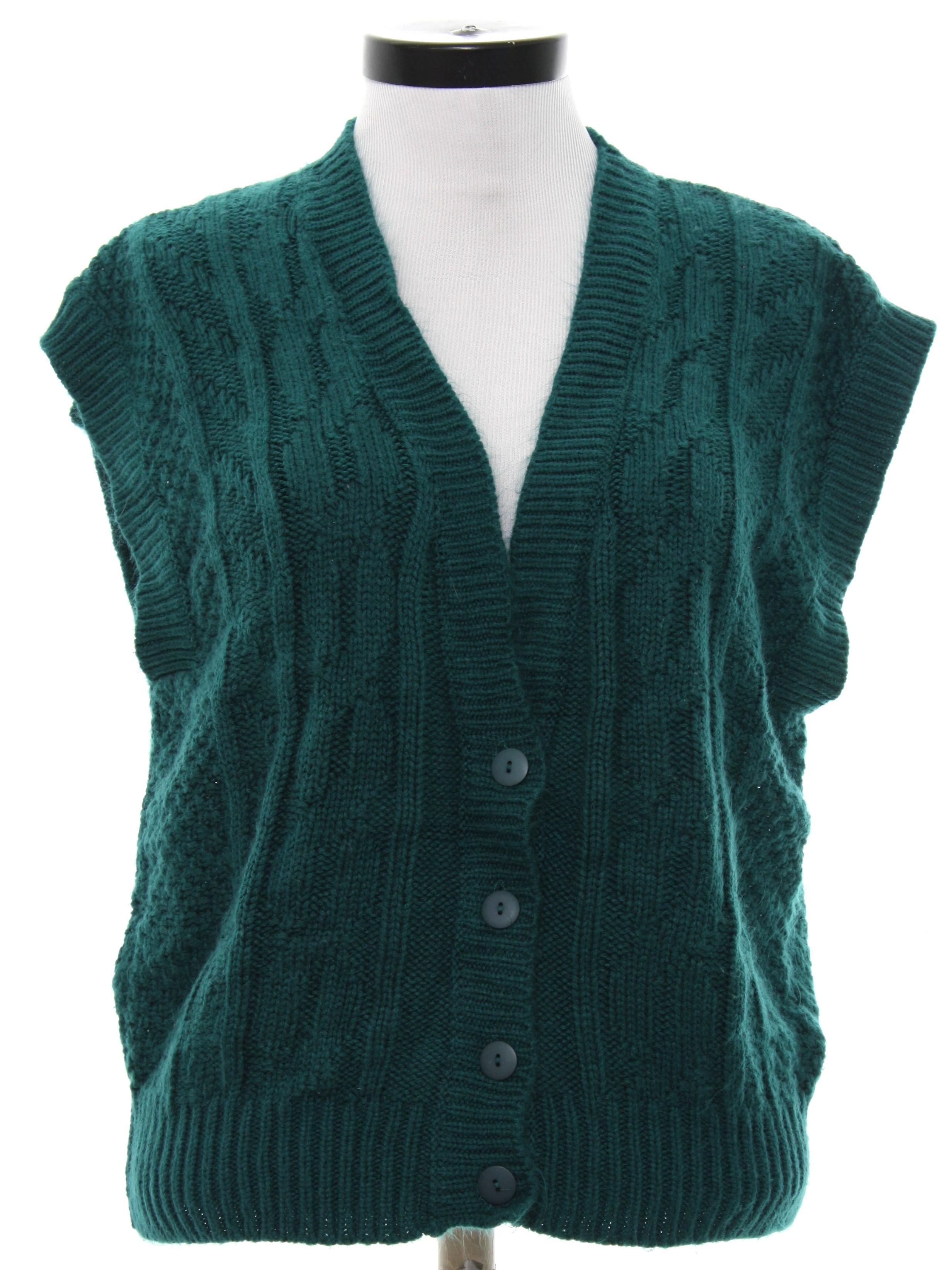 Basket Weave Vest Pattern : S pykettes sweater womens pine green