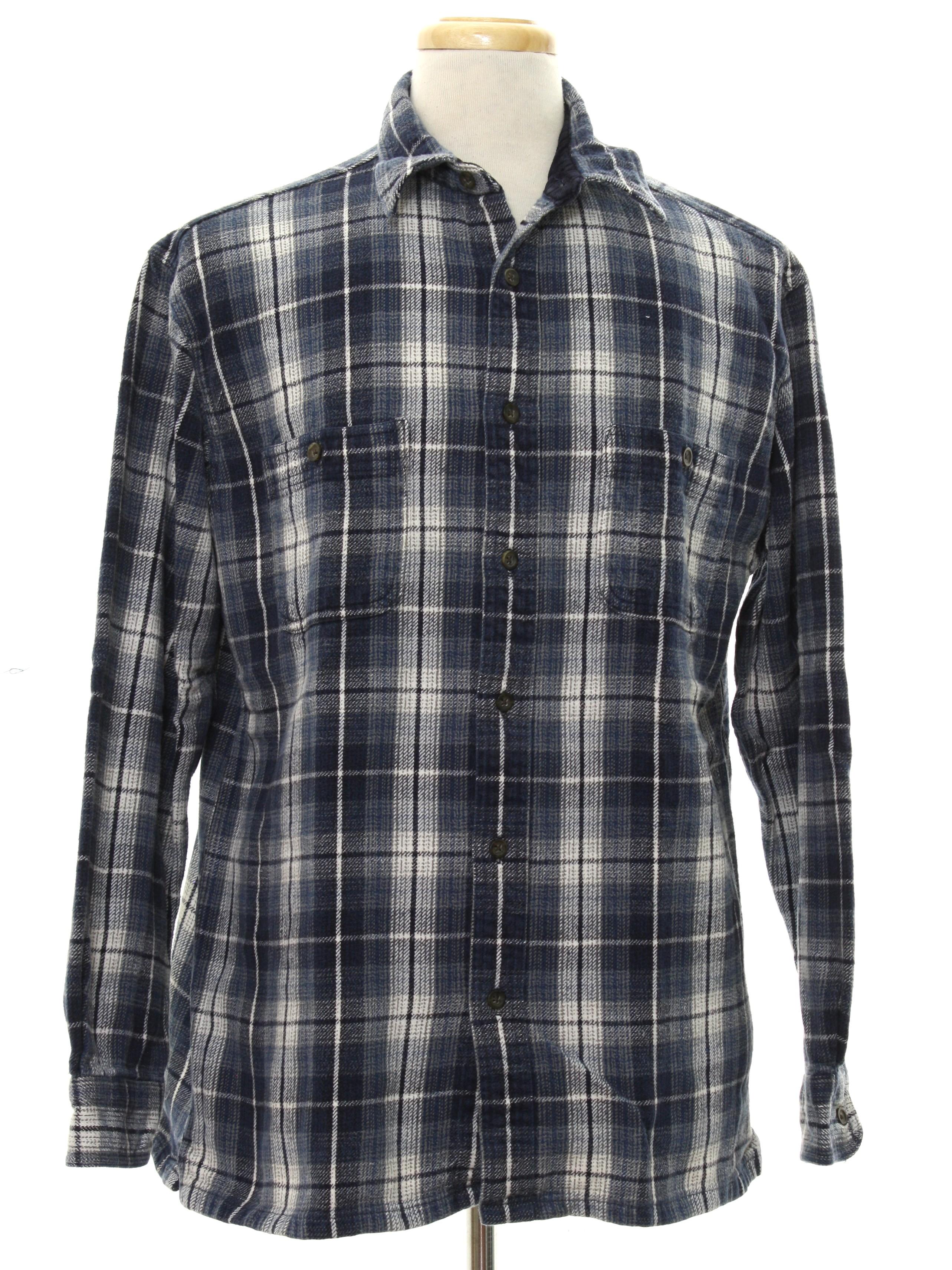Vintage St Johns Bay 90 39 S Shirt 90s St Johns Bay Mens