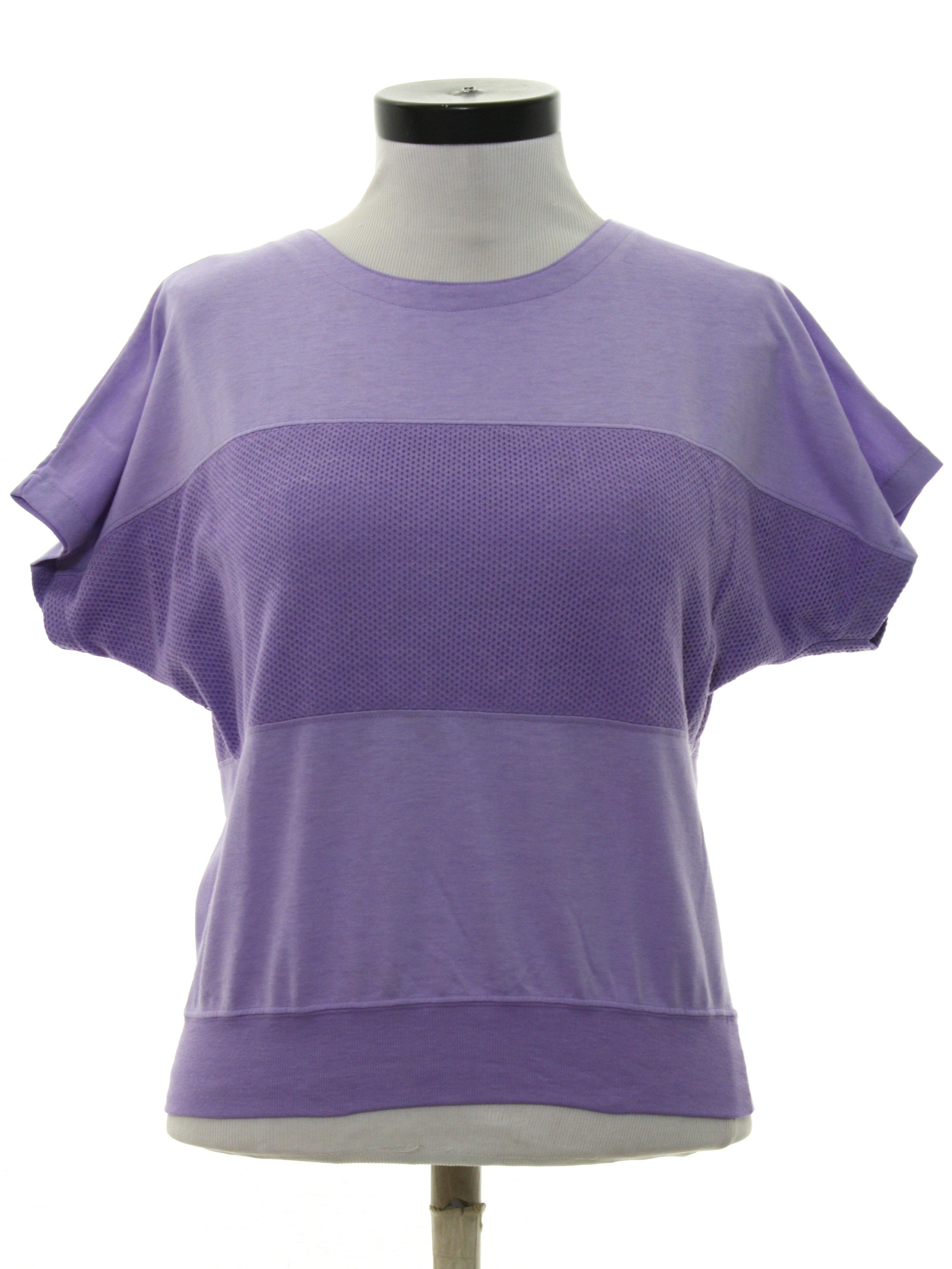 Eighties chaus shirt 80s chaus womens lavender for Shirts with see through backs
