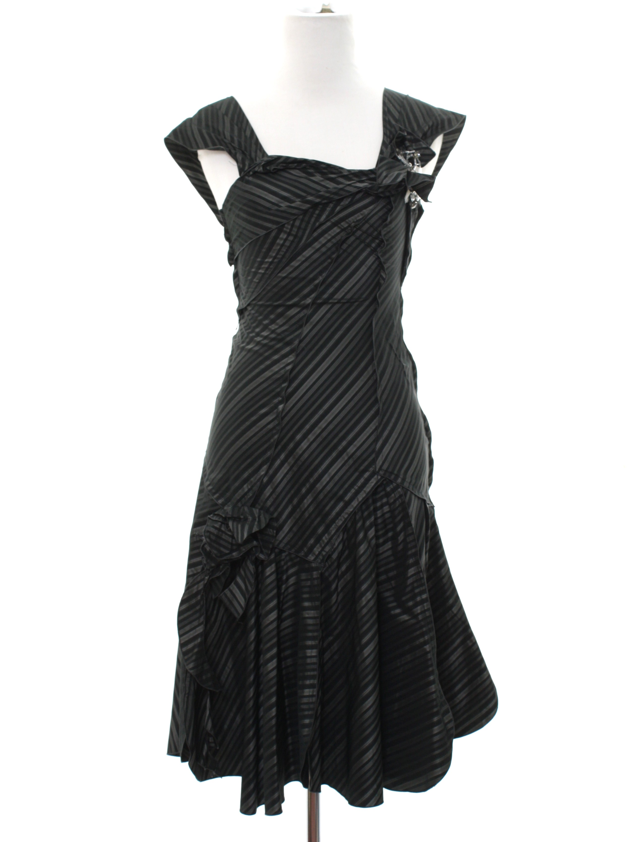 1940s Home Sewn Cocktail Dress: 40s inspired (made recently) - Home ...