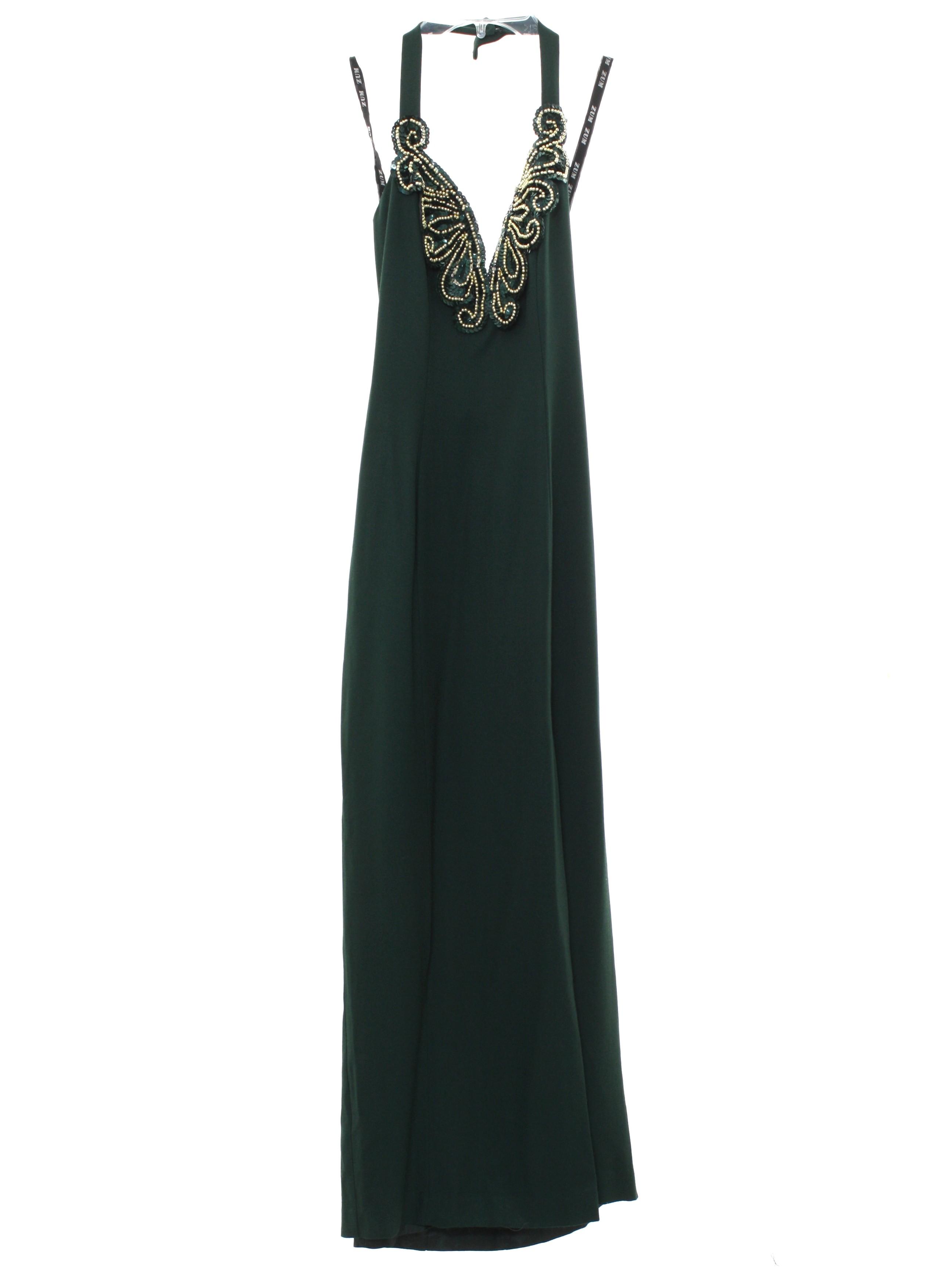 Vintage 1990\'s Cocktail Dress: 90s -Zum Zum- Petite Womens dark ...