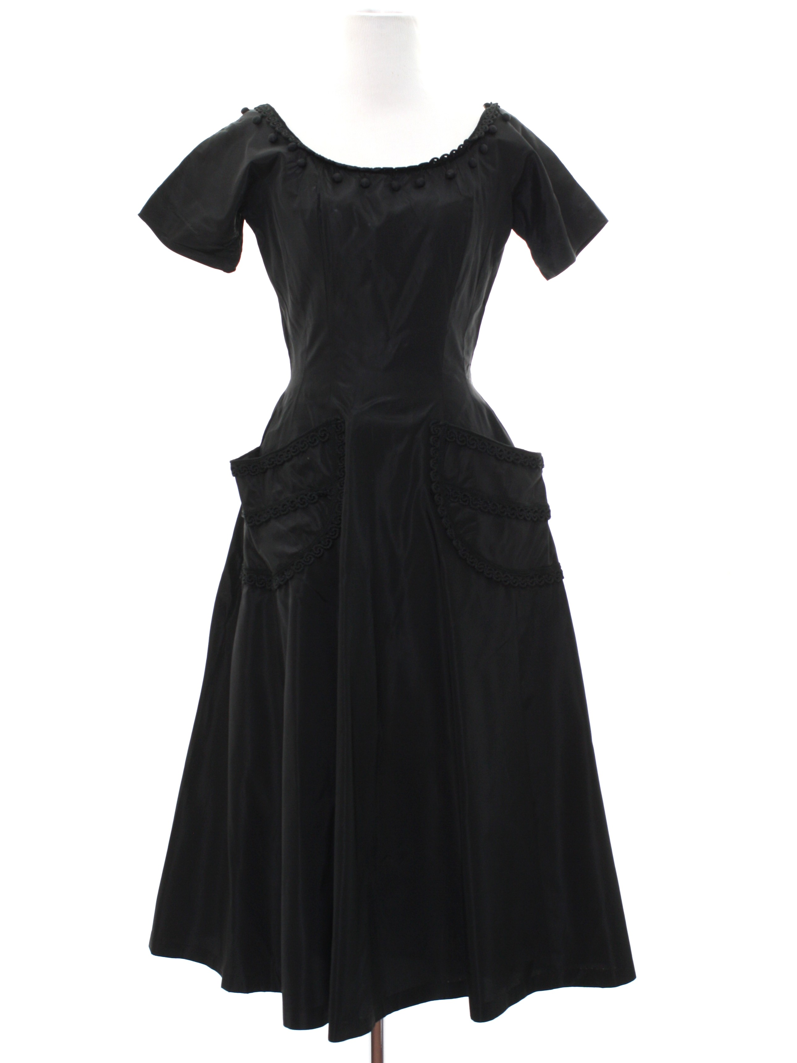 Vintage Chris Hepburn Original Fifties Cocktail Dress: 50s -Chris ...