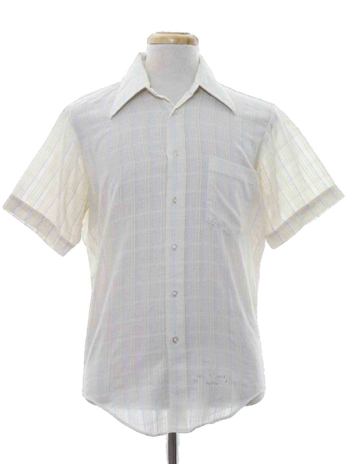 Retro 1970 39 s shirt kmart 70s kmart mens slightly for Kmart button up shirts