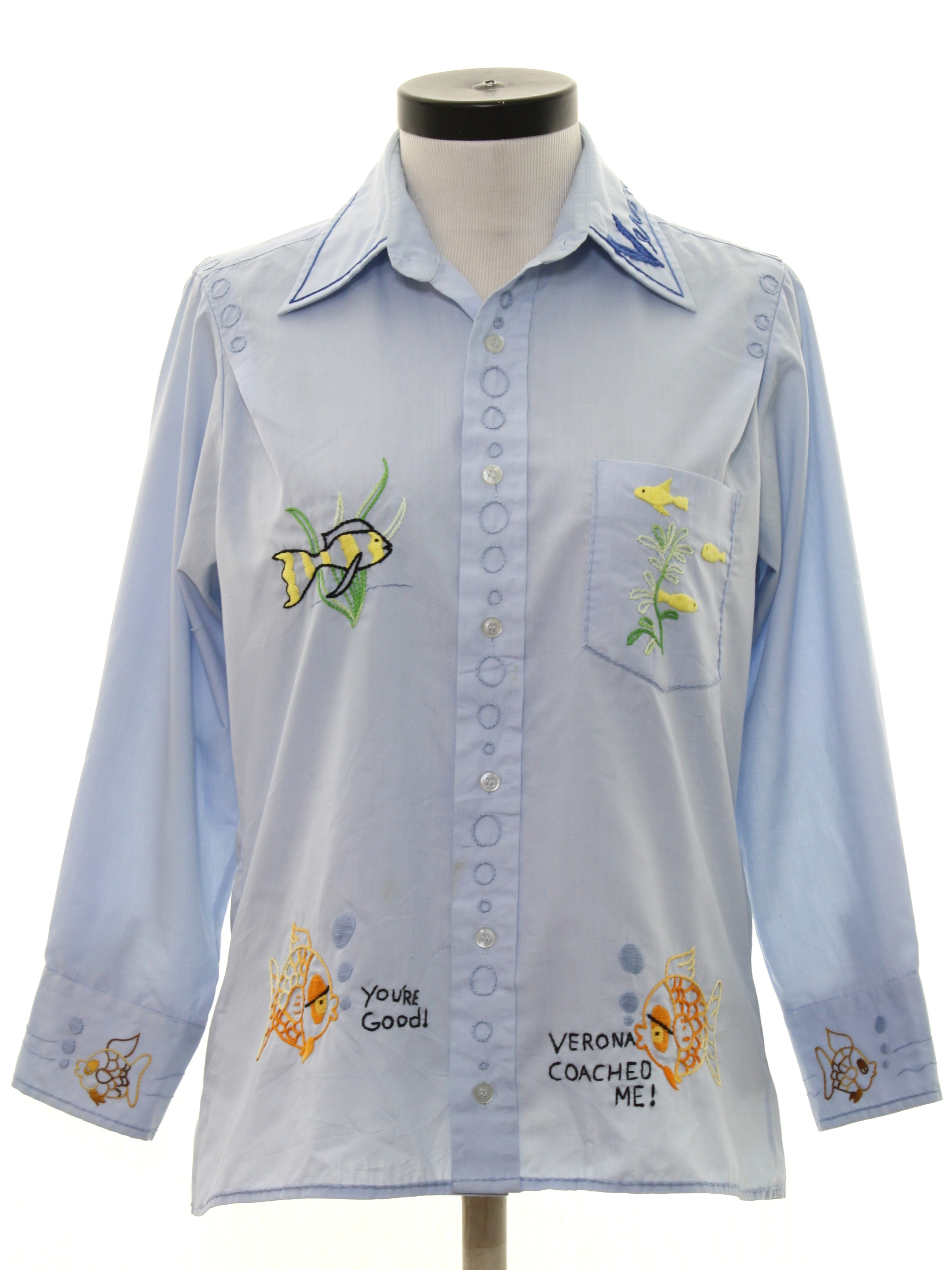 S vintage bristol hippie shirt late or early