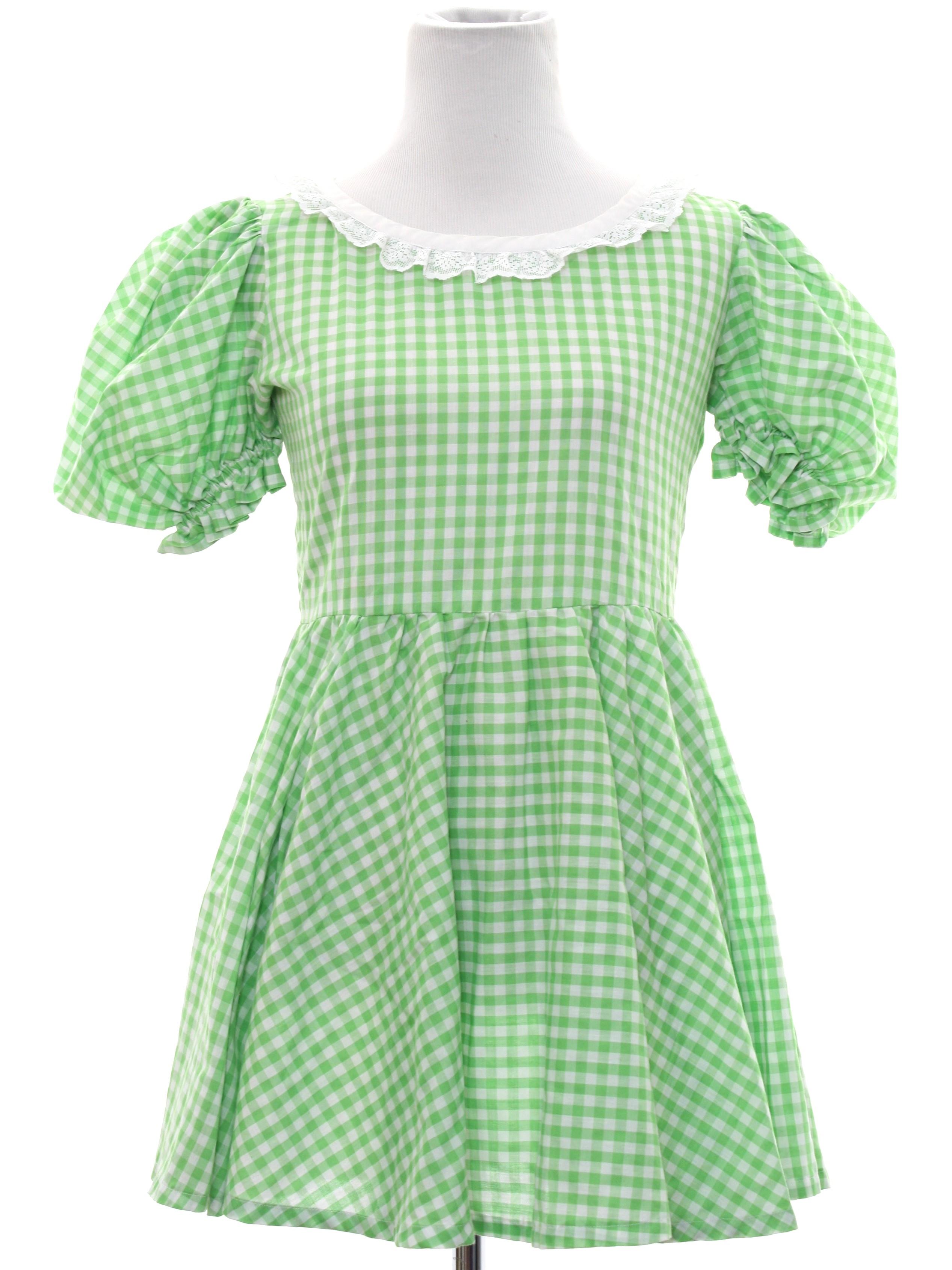 Retro Sixties Mini Dress Late 60s Or Early 70s Home Sewn