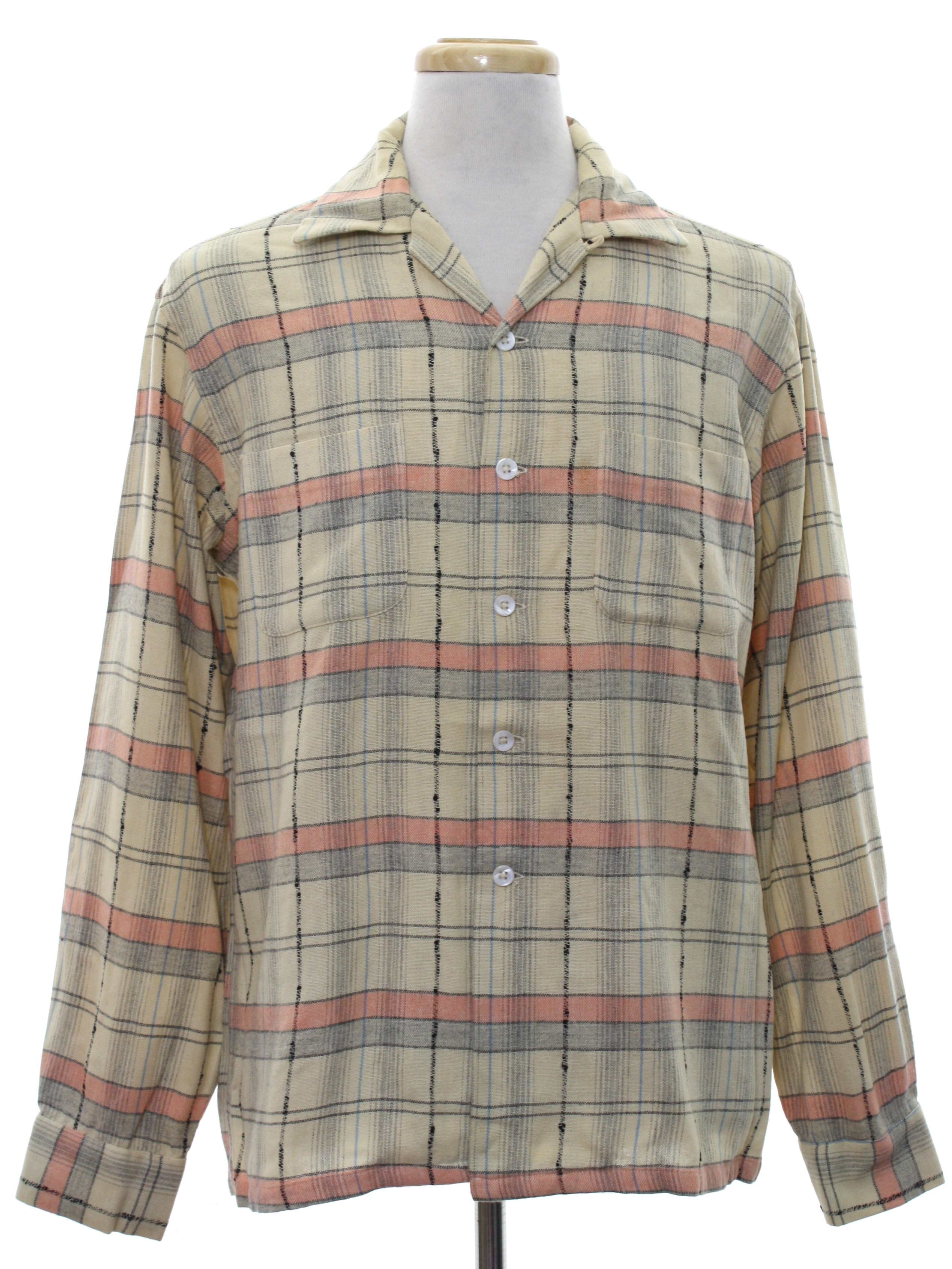 Vintage Mcgregor 1950s Shirt Late 50s Or Early 60s