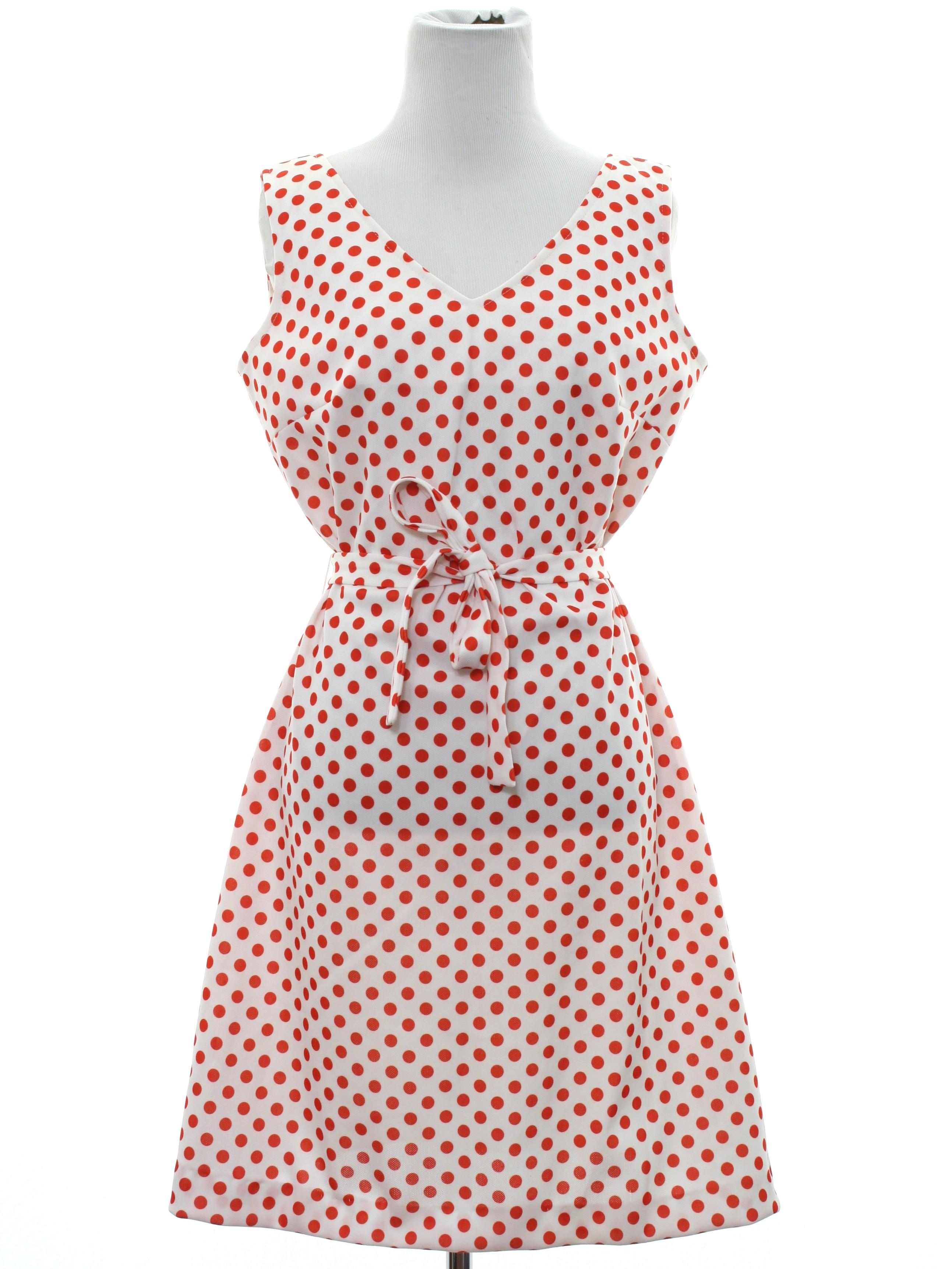 1970's Mod Knit Dress