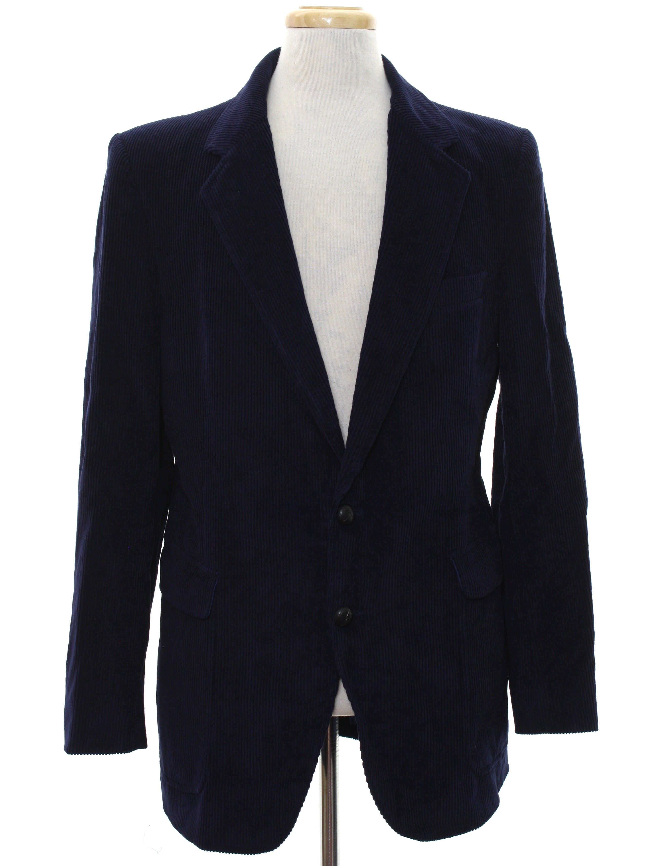 vintage BLACK VELVET mens blazer jacket Medium waa4BLT6