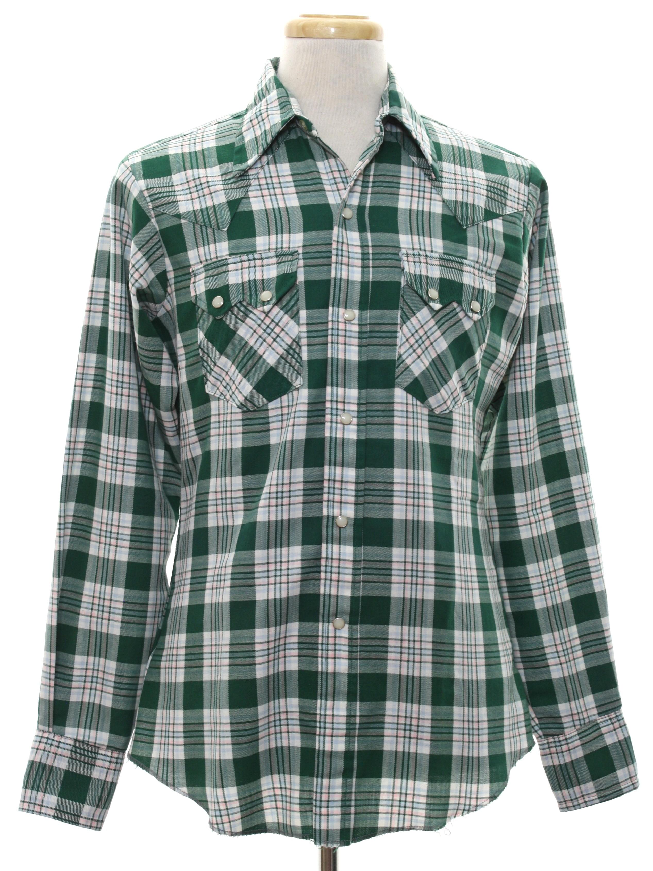 Eighties Vintage Western Shirt 80s Dee Cee Western Wear