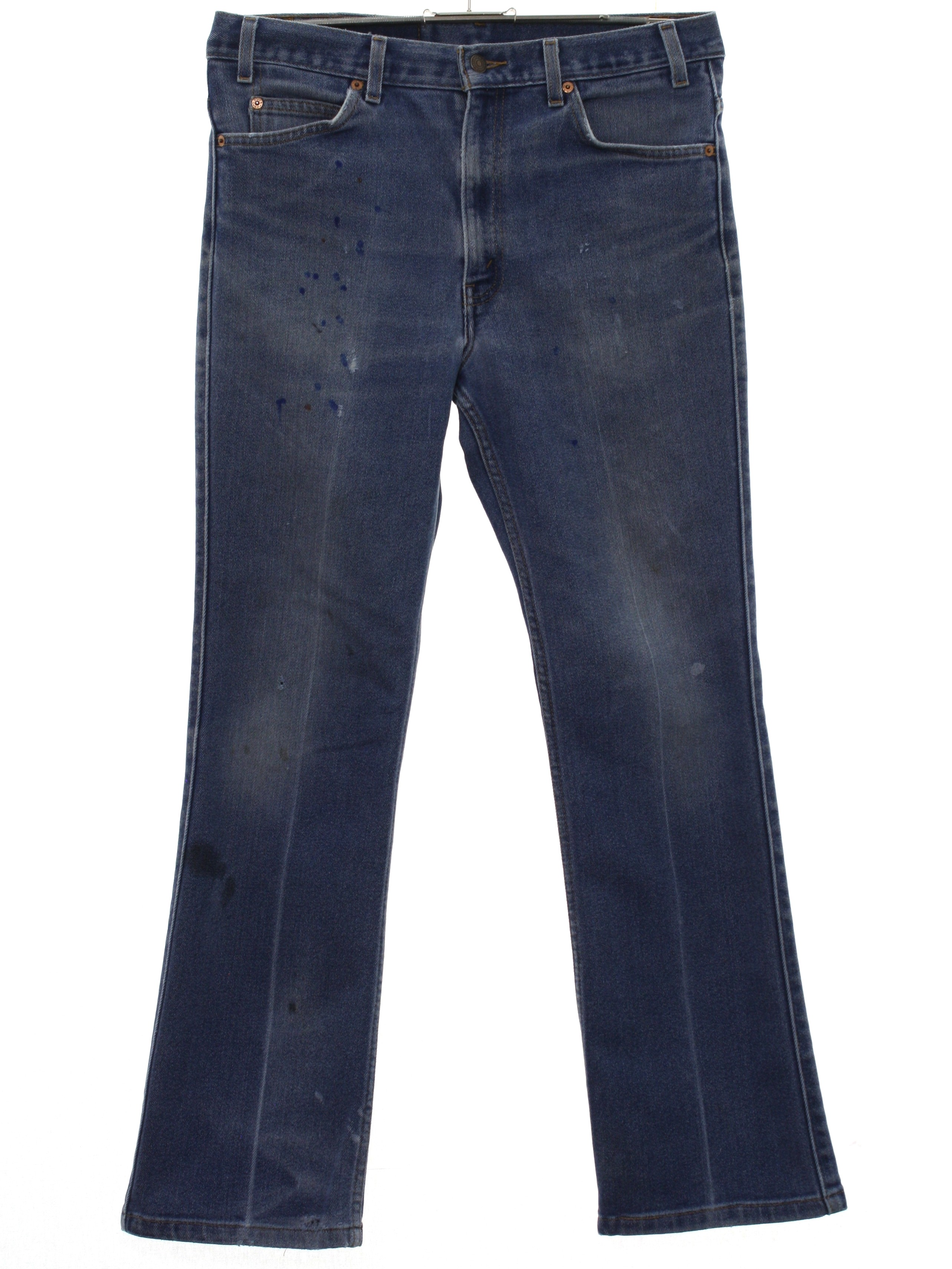3e466667 Vintage 90s Flared Pants / Flares: 90s -Levis 517- Mens heavily ...
