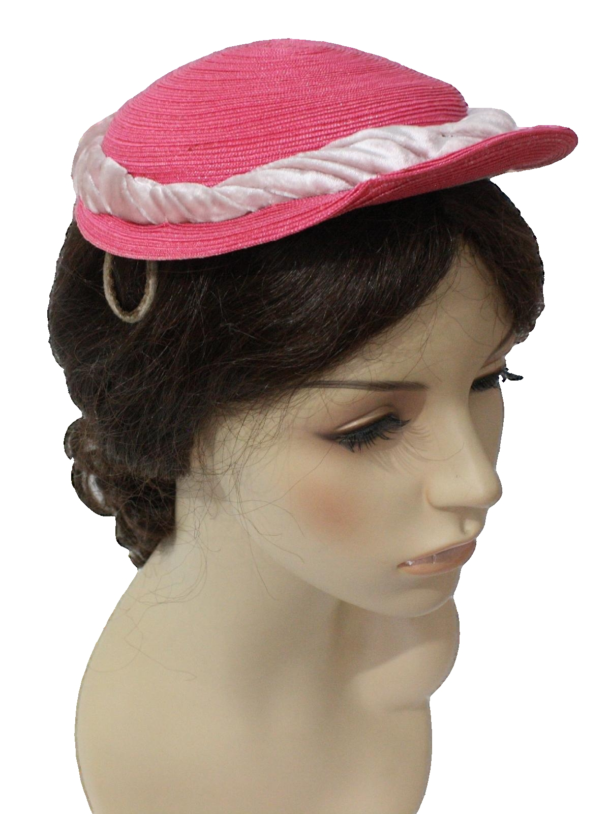 ronnie 1940s vintage hat 40s ronnie womens pink