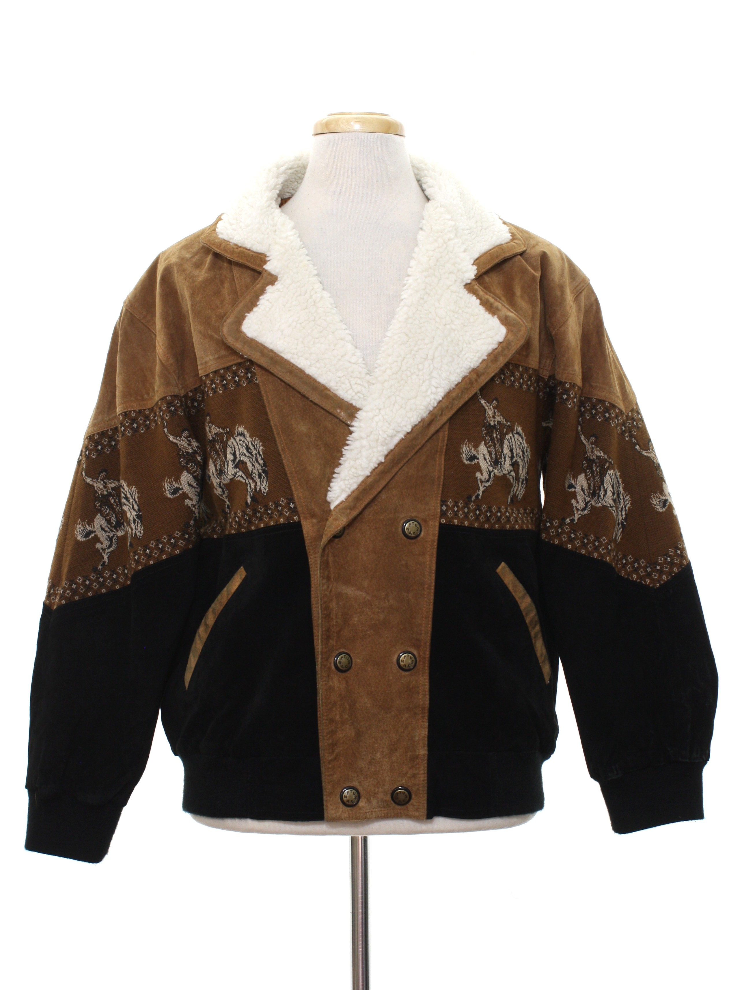 Tuskany Leather 1980s Vintage Leather Jacket 80s Tuskany