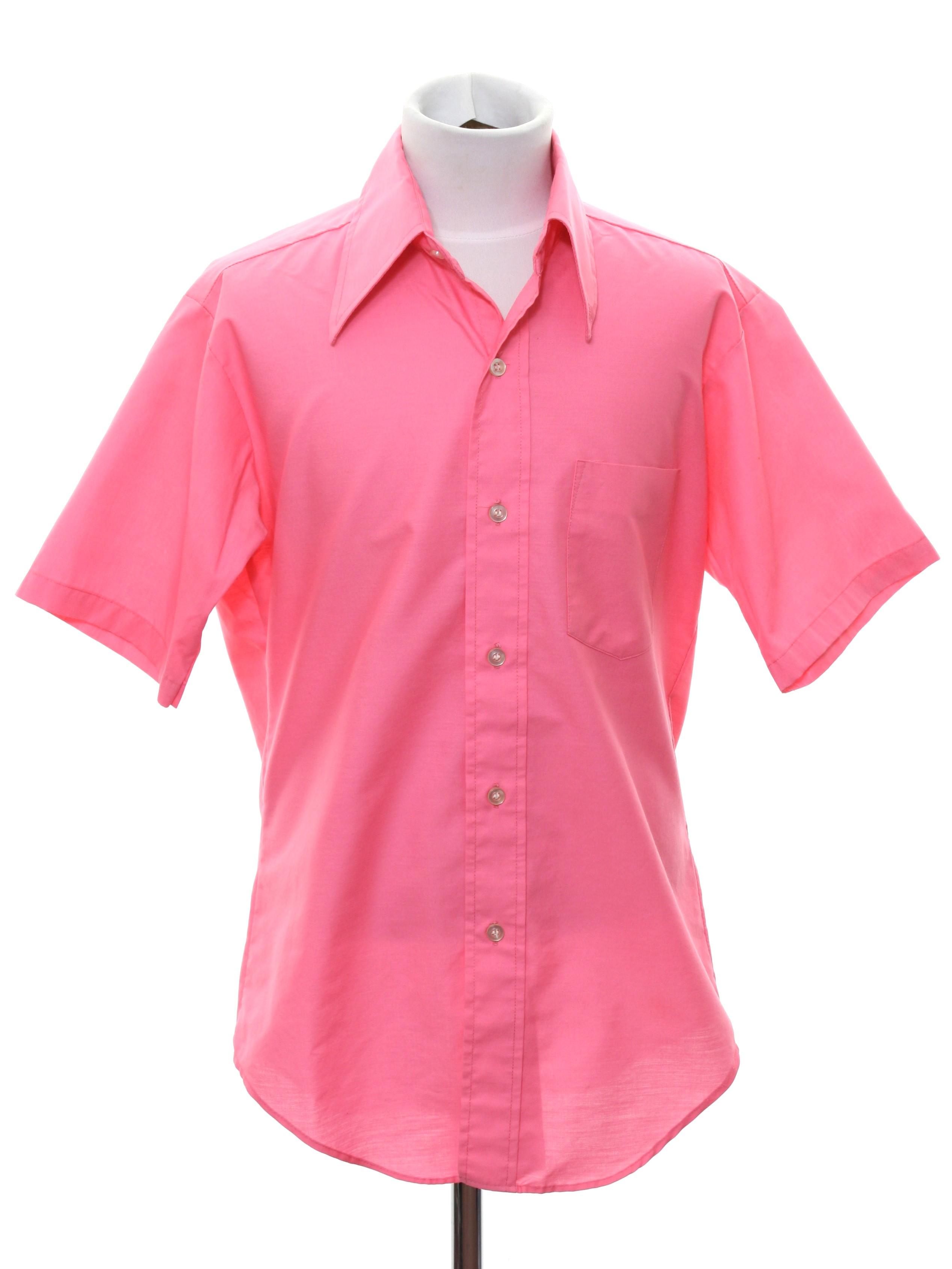 9d3f8fba Eldorado Seventies Vintage Shirt: 70s -Eldorado- Mens or Boys bright ...